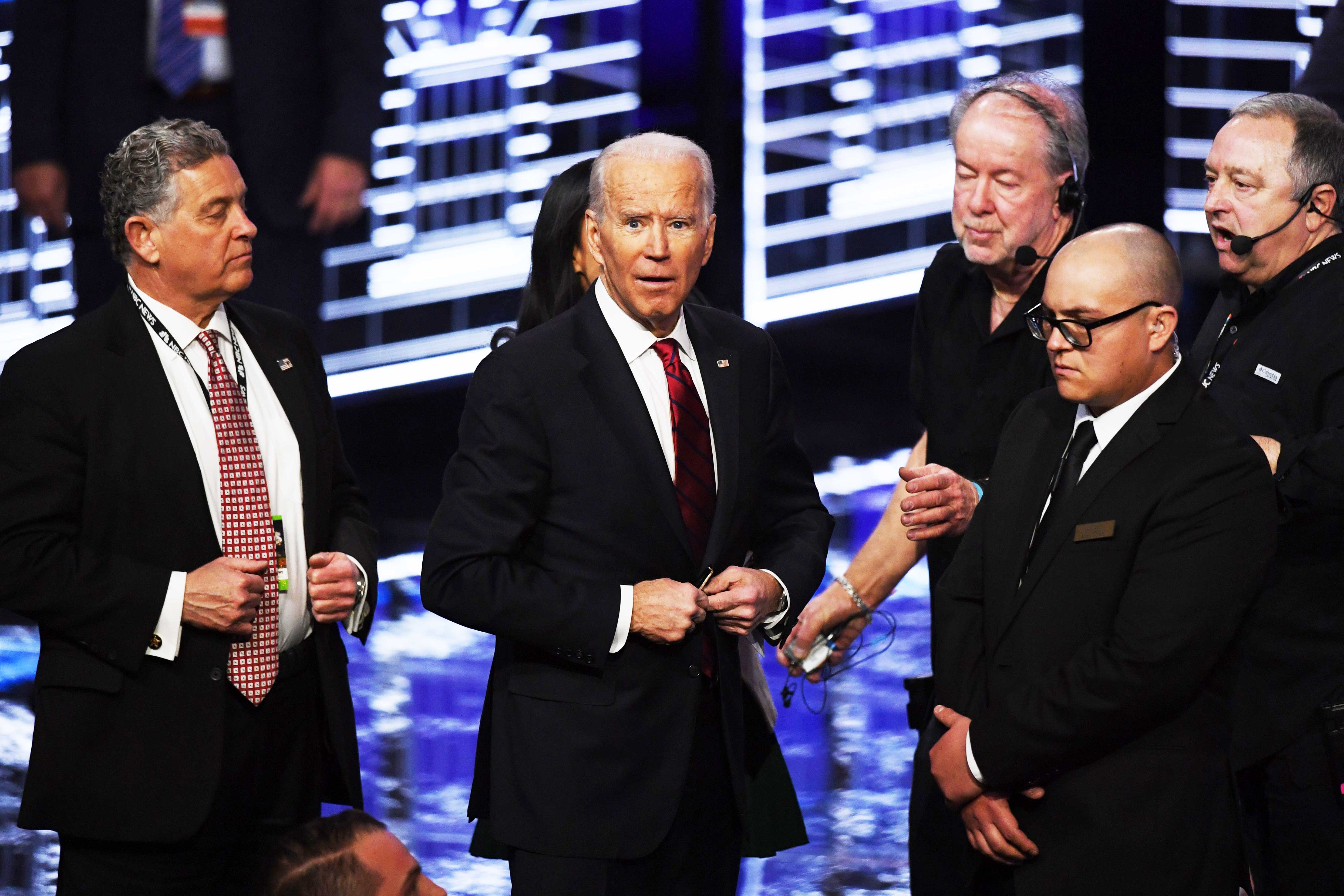 Protesters at the Nevada Democratic debate were immigrant rights activists