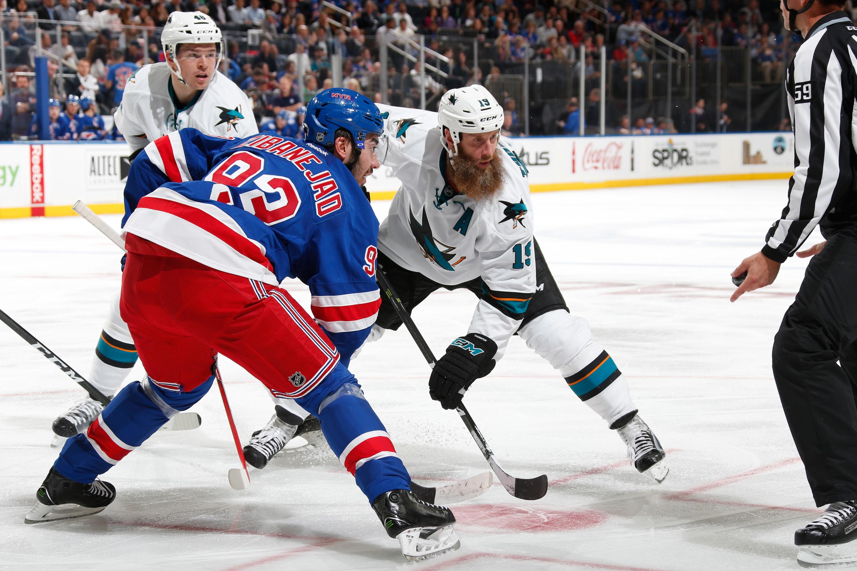 San Jose Sharks v New York Rangers
