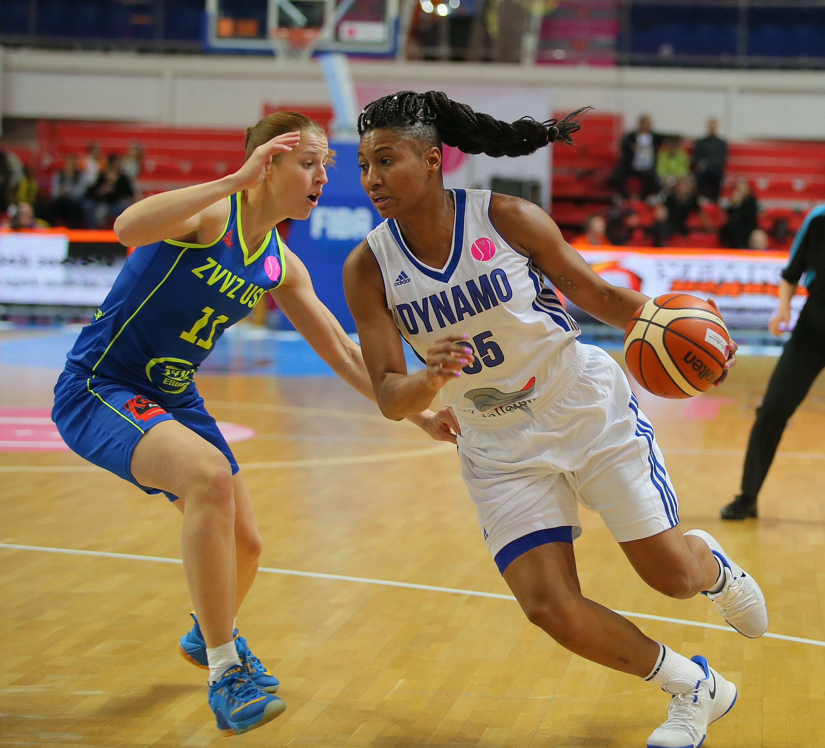 Dynamo Kursk - ZVVZ USK Prague: FIBA Euroleague Women