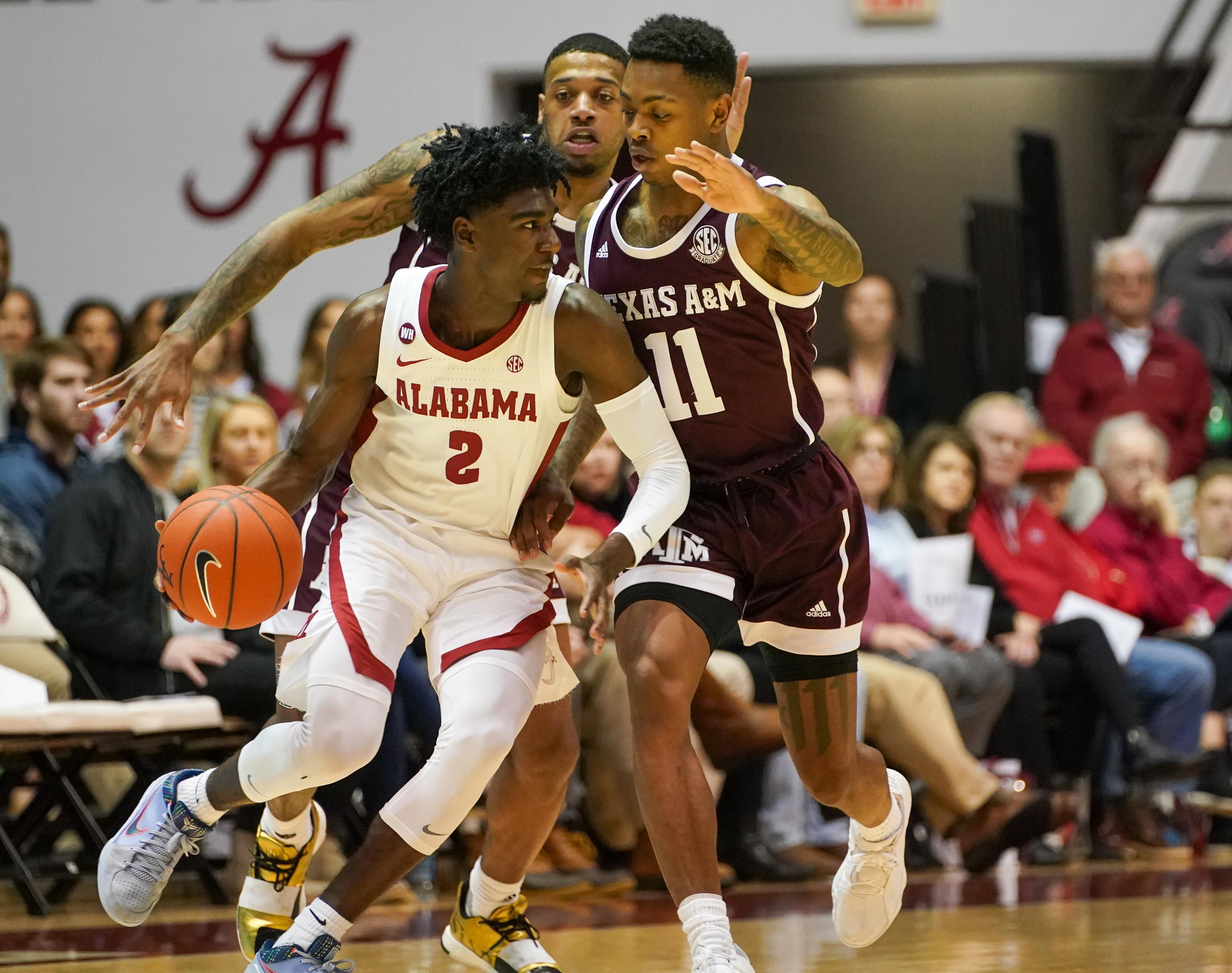 NCAA Basketball: Texas A&M at Alabama