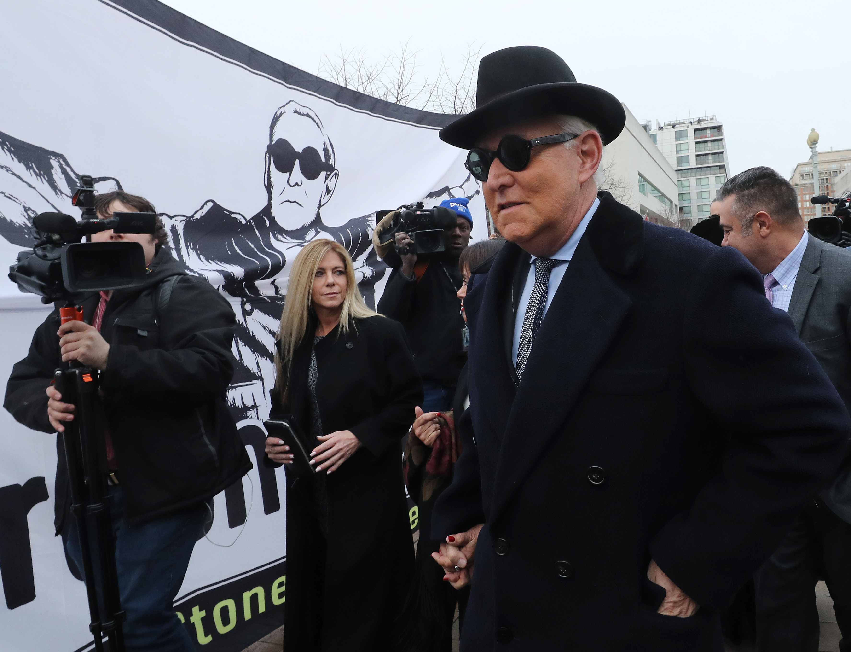 Roger Stone was just sentenced to 40 months in prison