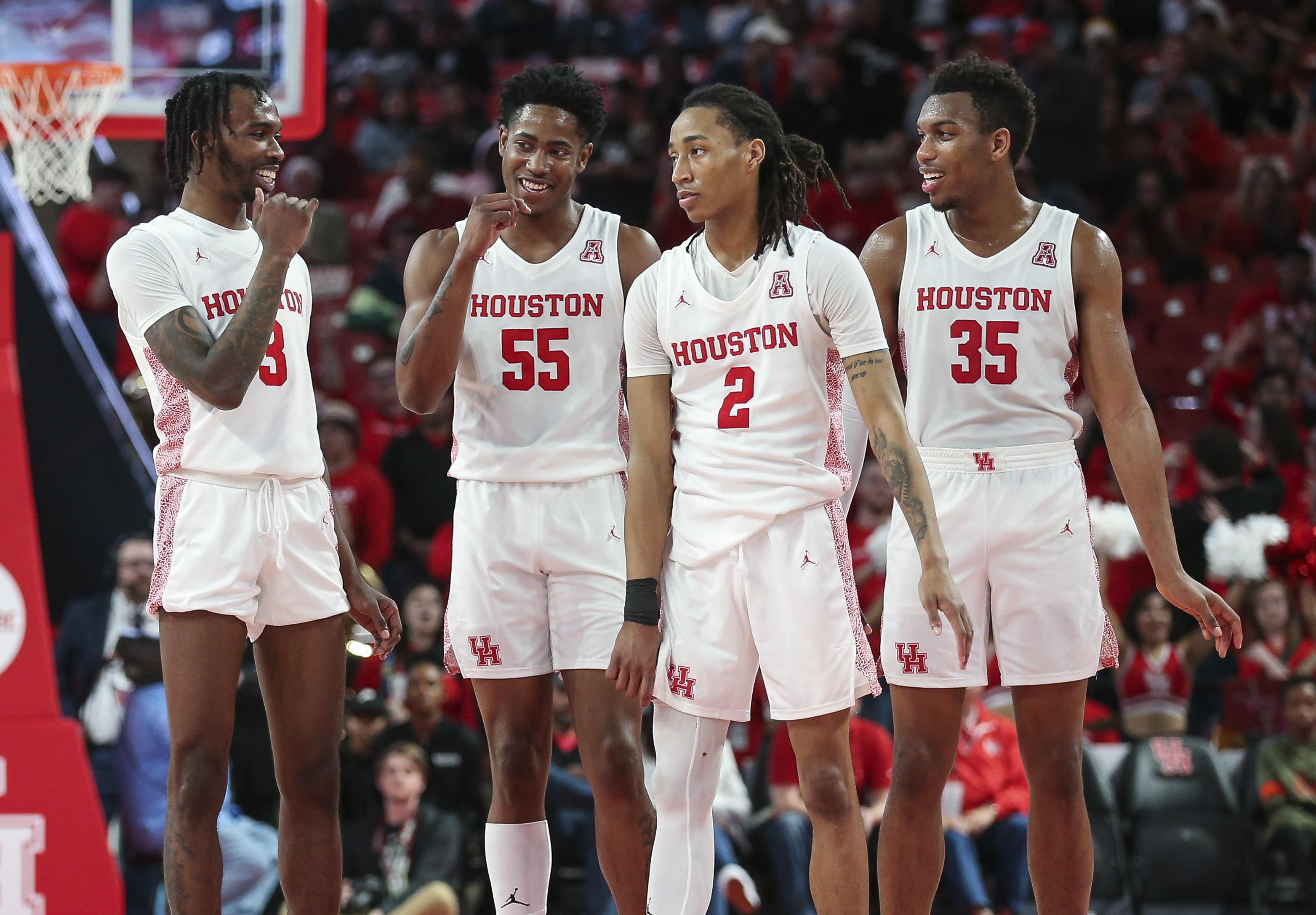 NCAA Basketball: Tulsa at Houston