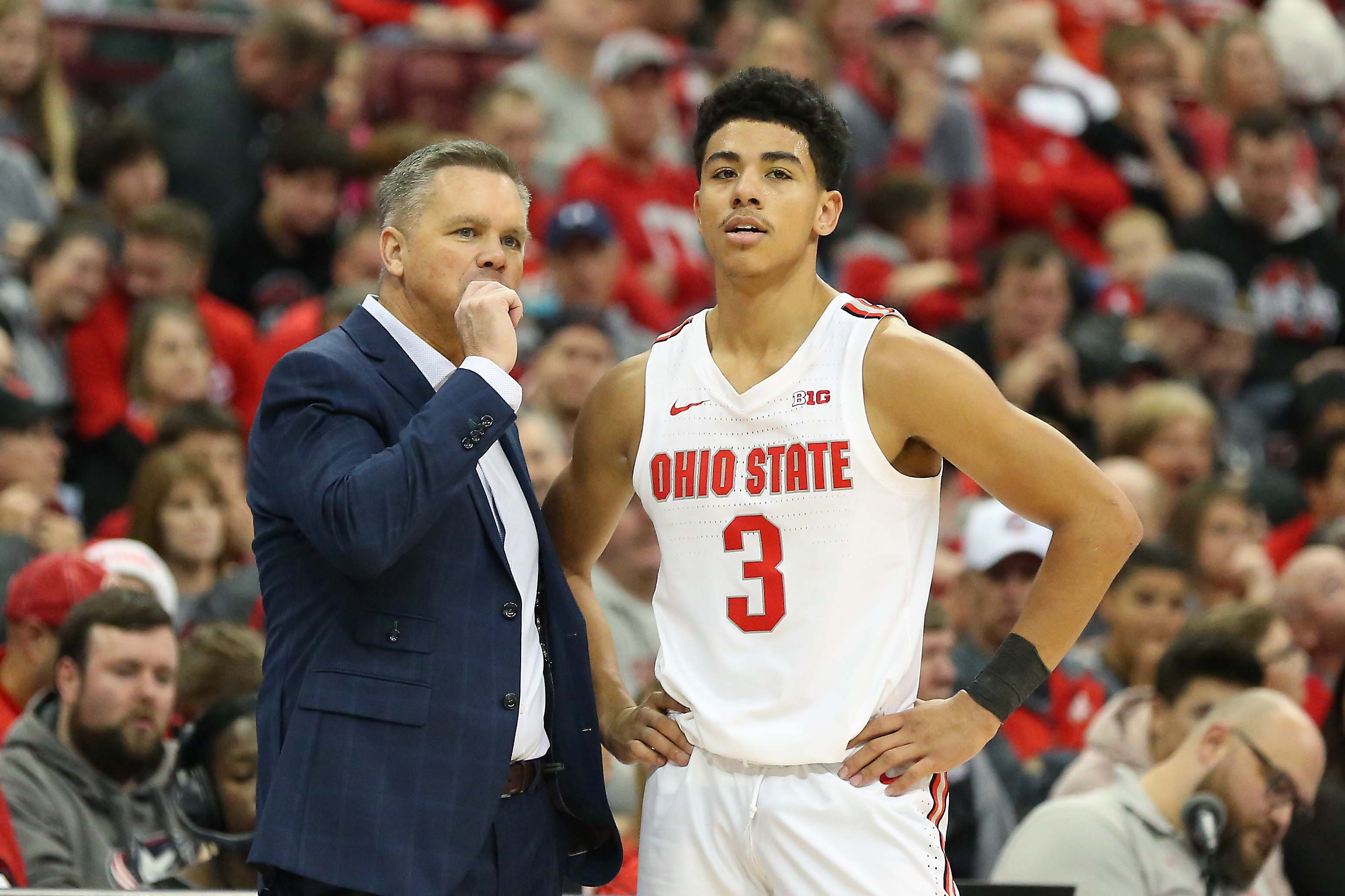 NCAA Basketball: Morgan State at Ohio State