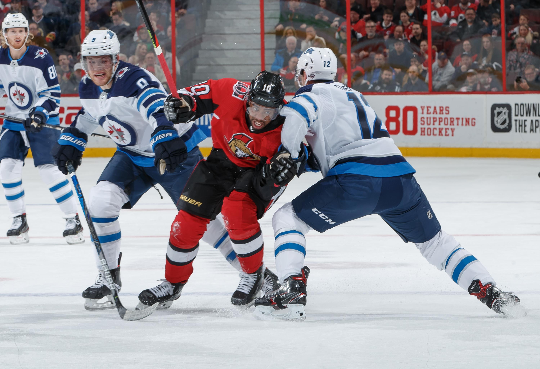 Winnipeg Jets v Ottawa Senators