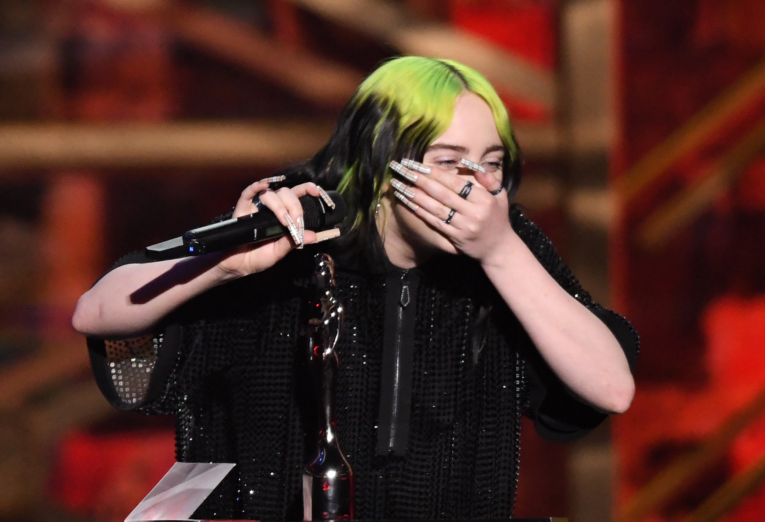 The BRIT Awards 2020 - Show with Billie Eilish