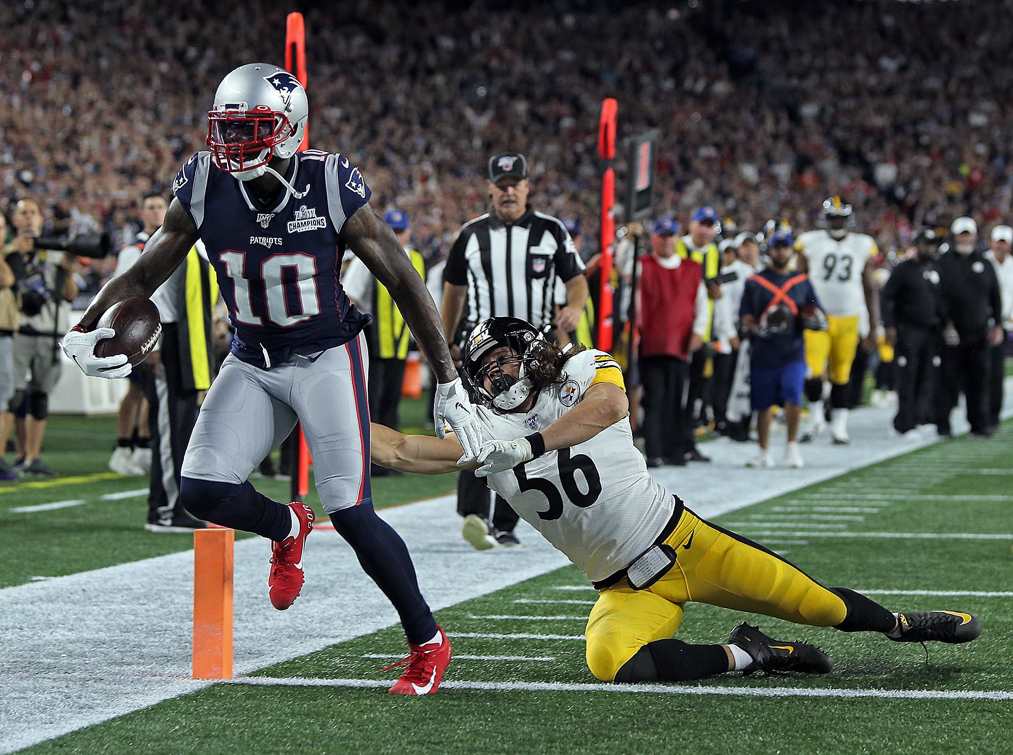 Patriots vs Steelers