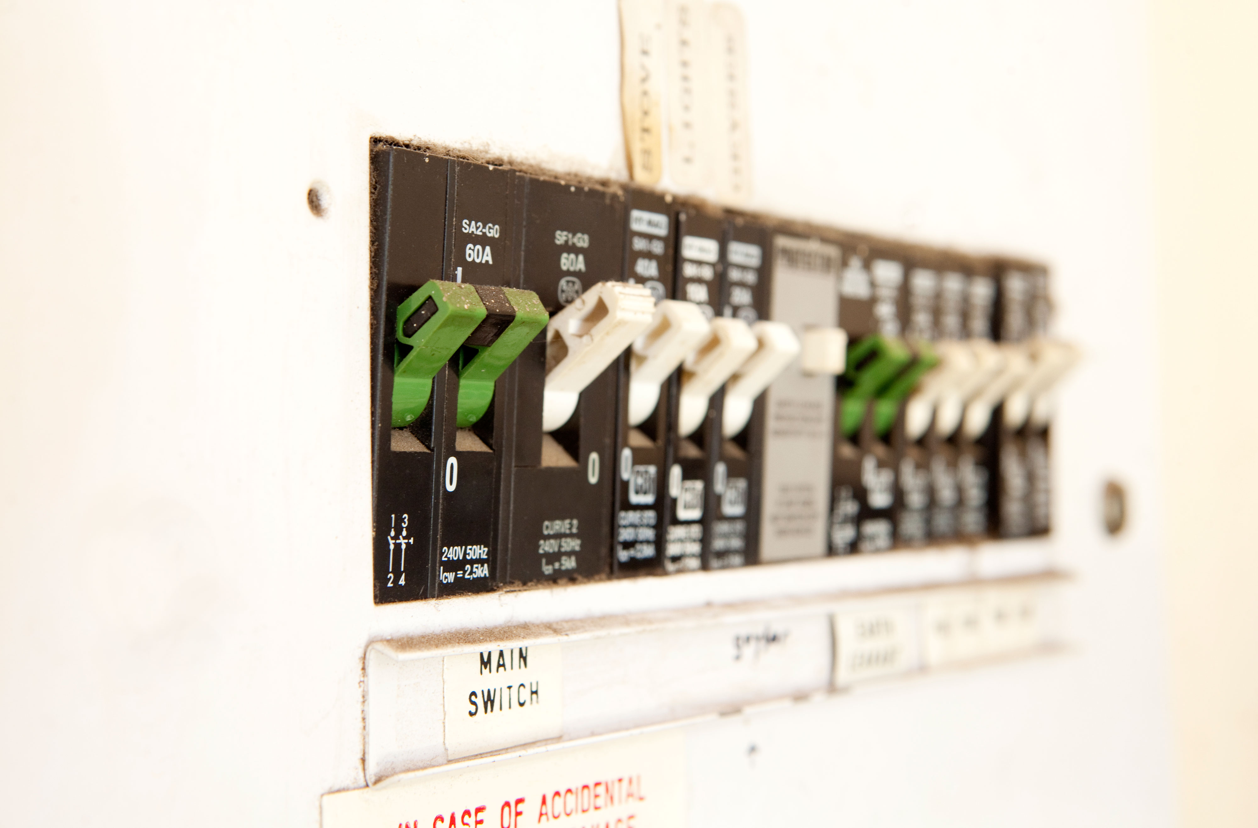 Electrical Panel, Home, Fuse Box