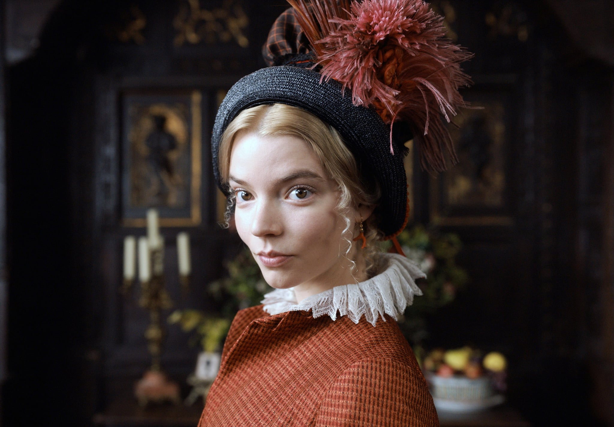 Emma's Anya Taylor-Joy on slapstick, set life, and playing Jane Austen's iconic character