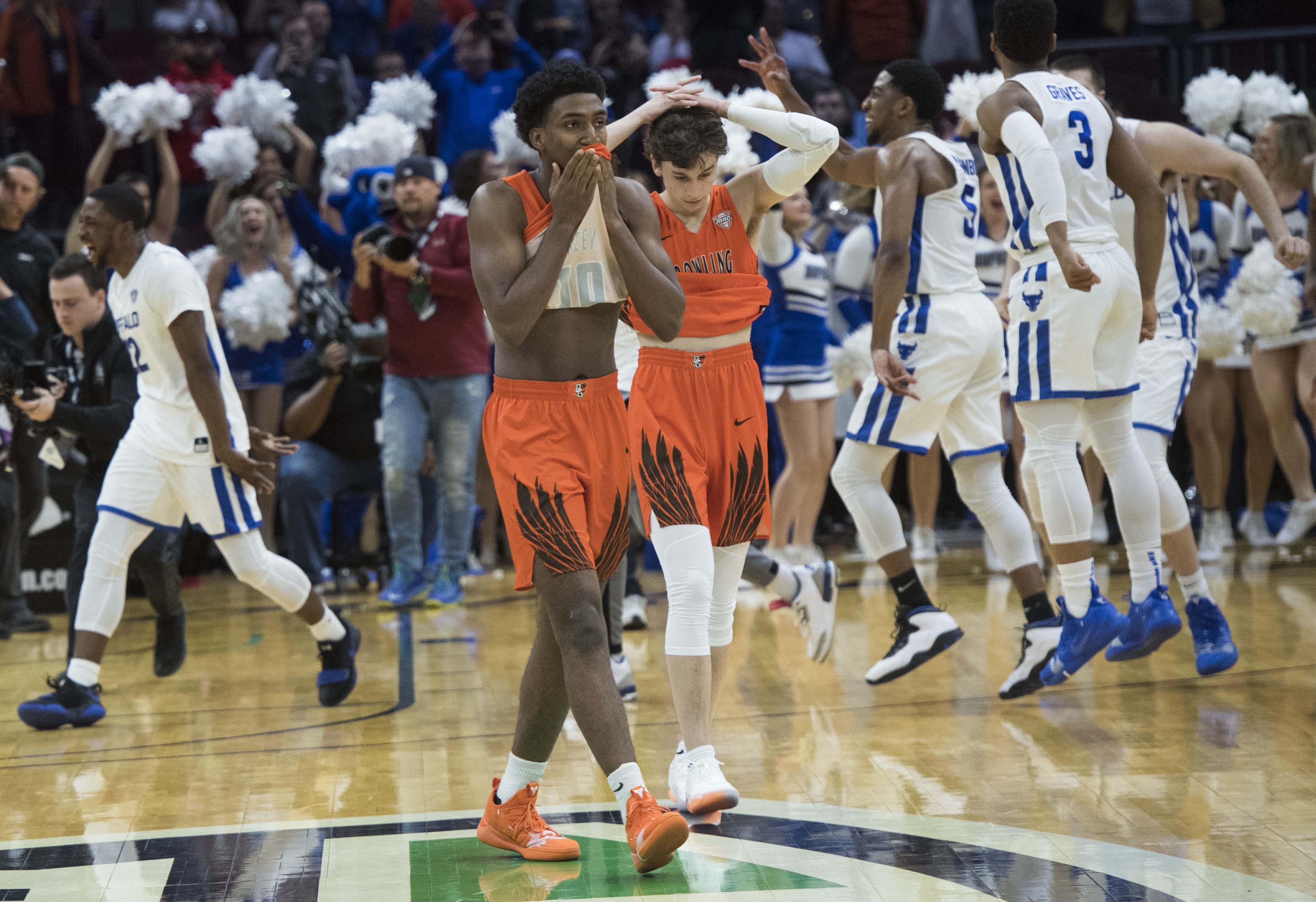 NCAA篮球:MAC大会锦标赛-布法罗对鲍灵格林