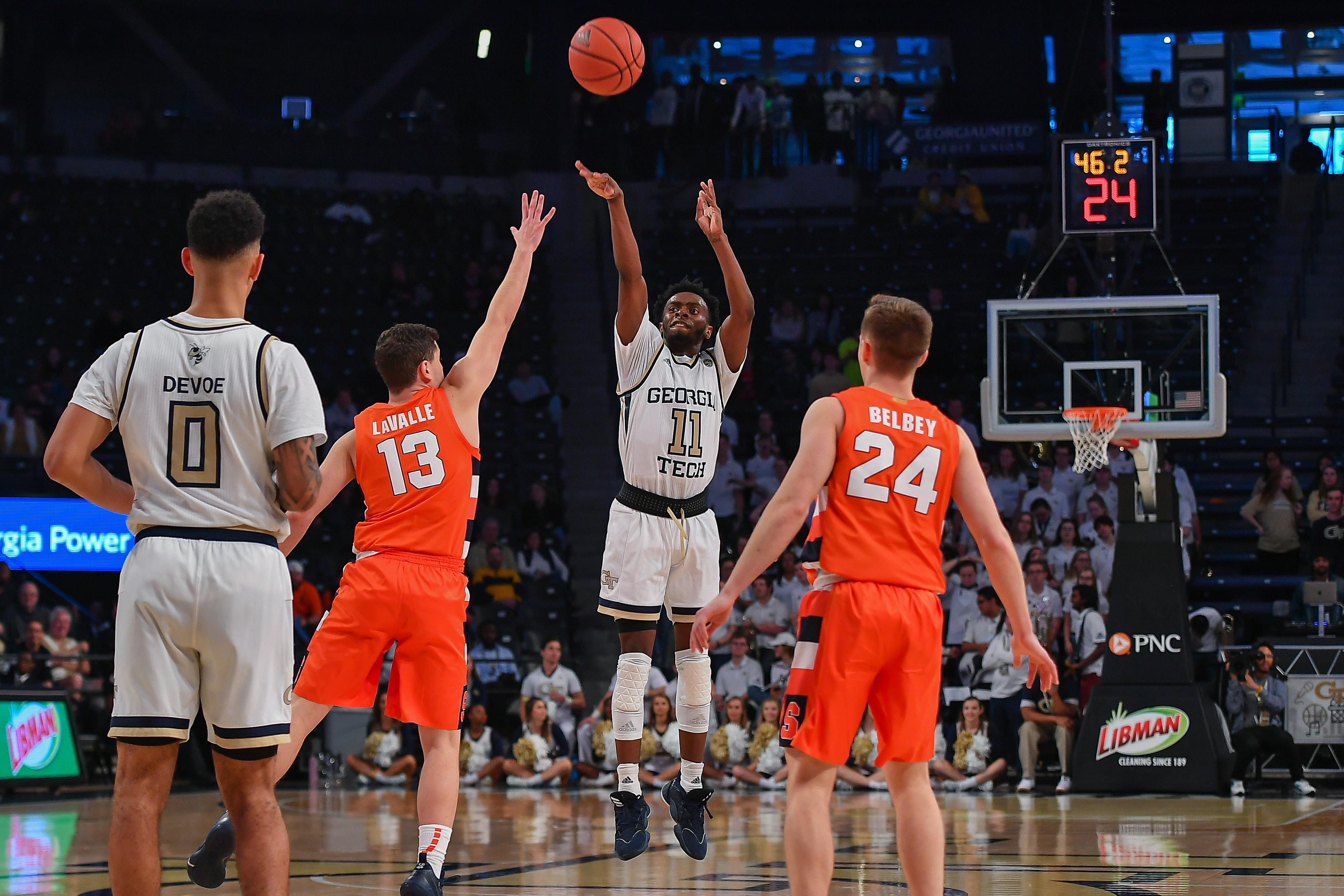 COLLEGE BASKETBALL: DEC 07 Syracuse at Georgia Tech