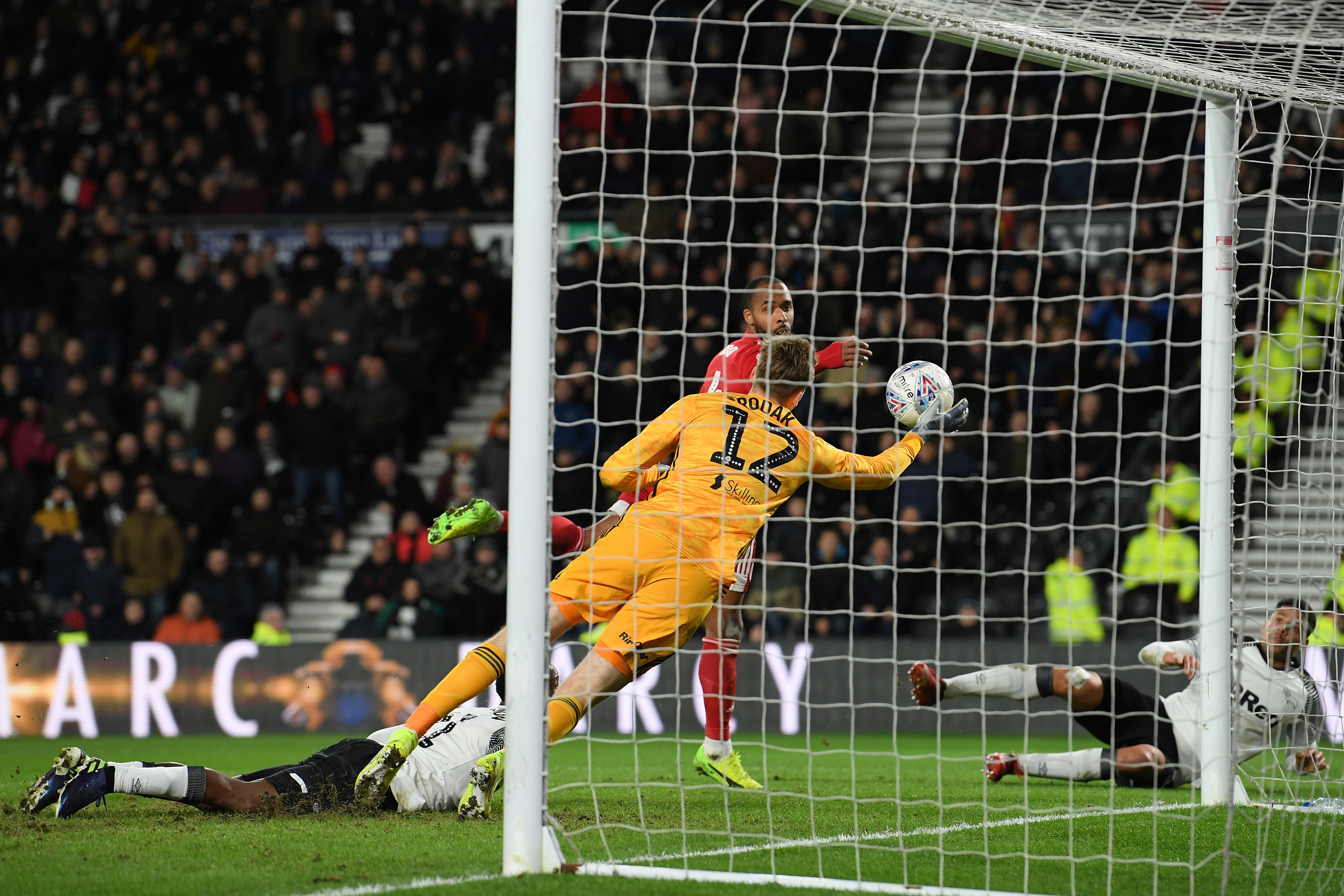 Derby County v Fulham - Sky Bet Championship