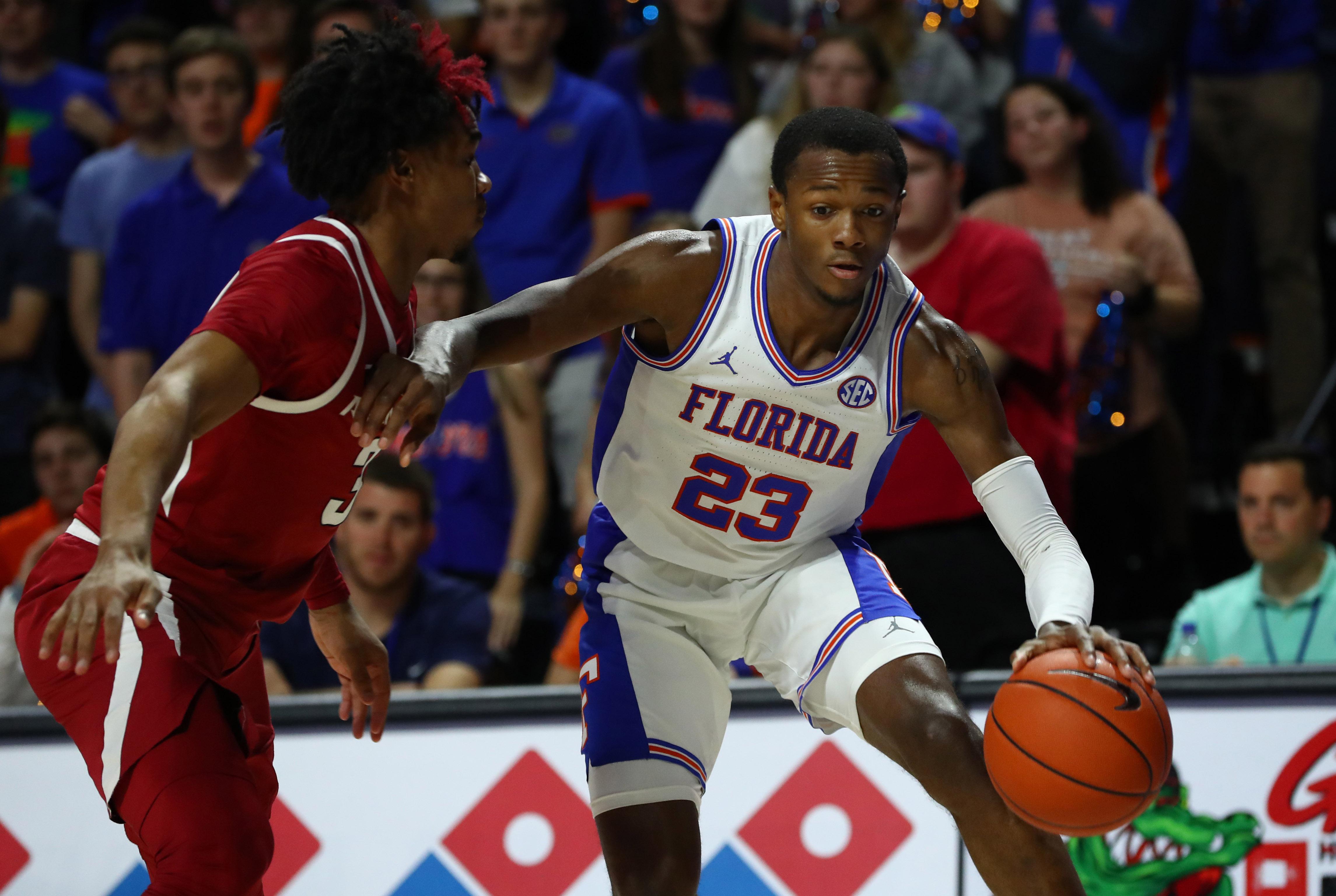 NCAA Basketball: Arkansas at Florida