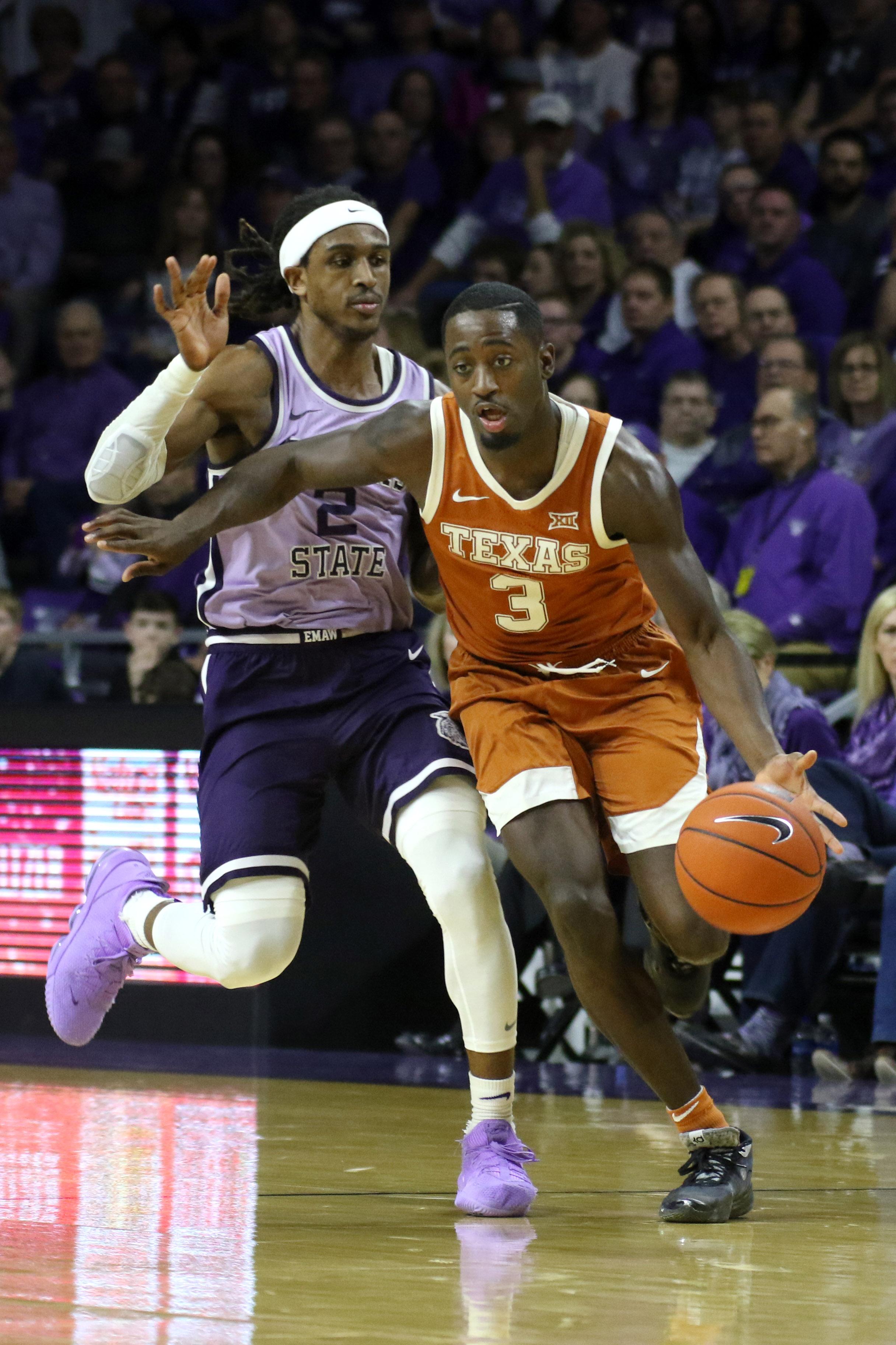 NCAA Basketball: Texas at Kansas State