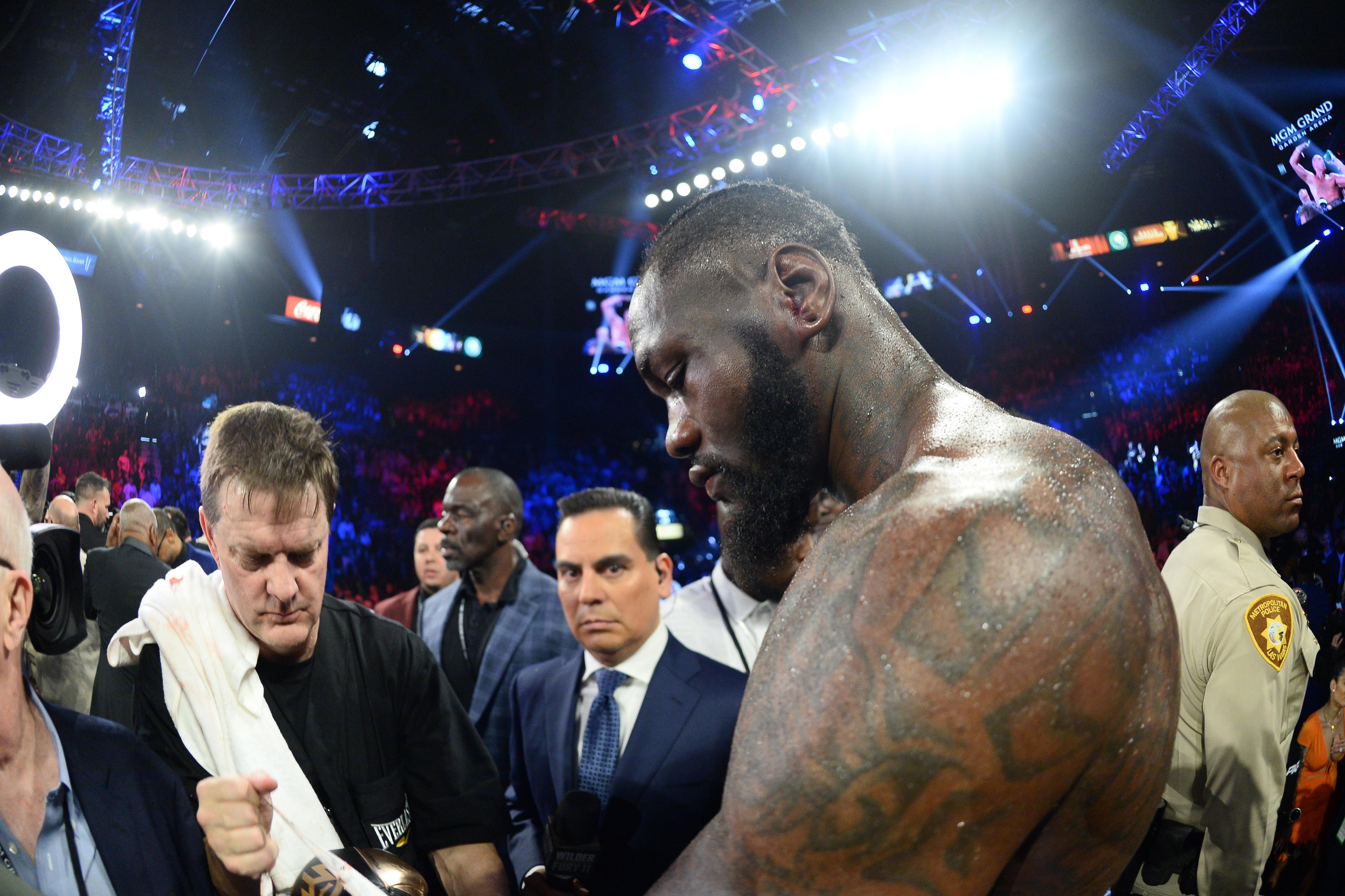 "<p zoompage-fontsize=""15"" style="""">Boxing: Wilder vs Fury II"