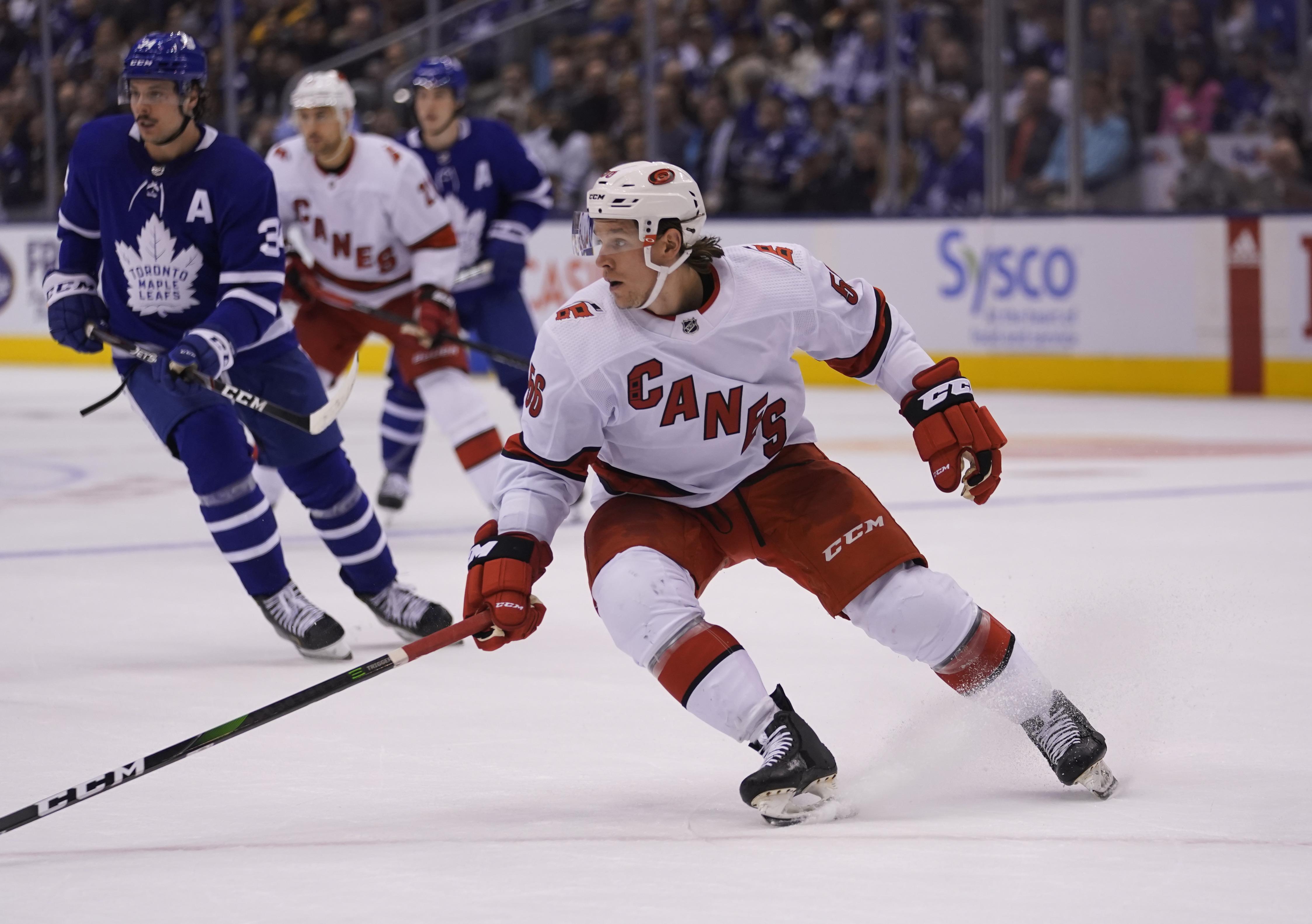 NHL: Carolina Hurricanes at Toronto Maple Leafs