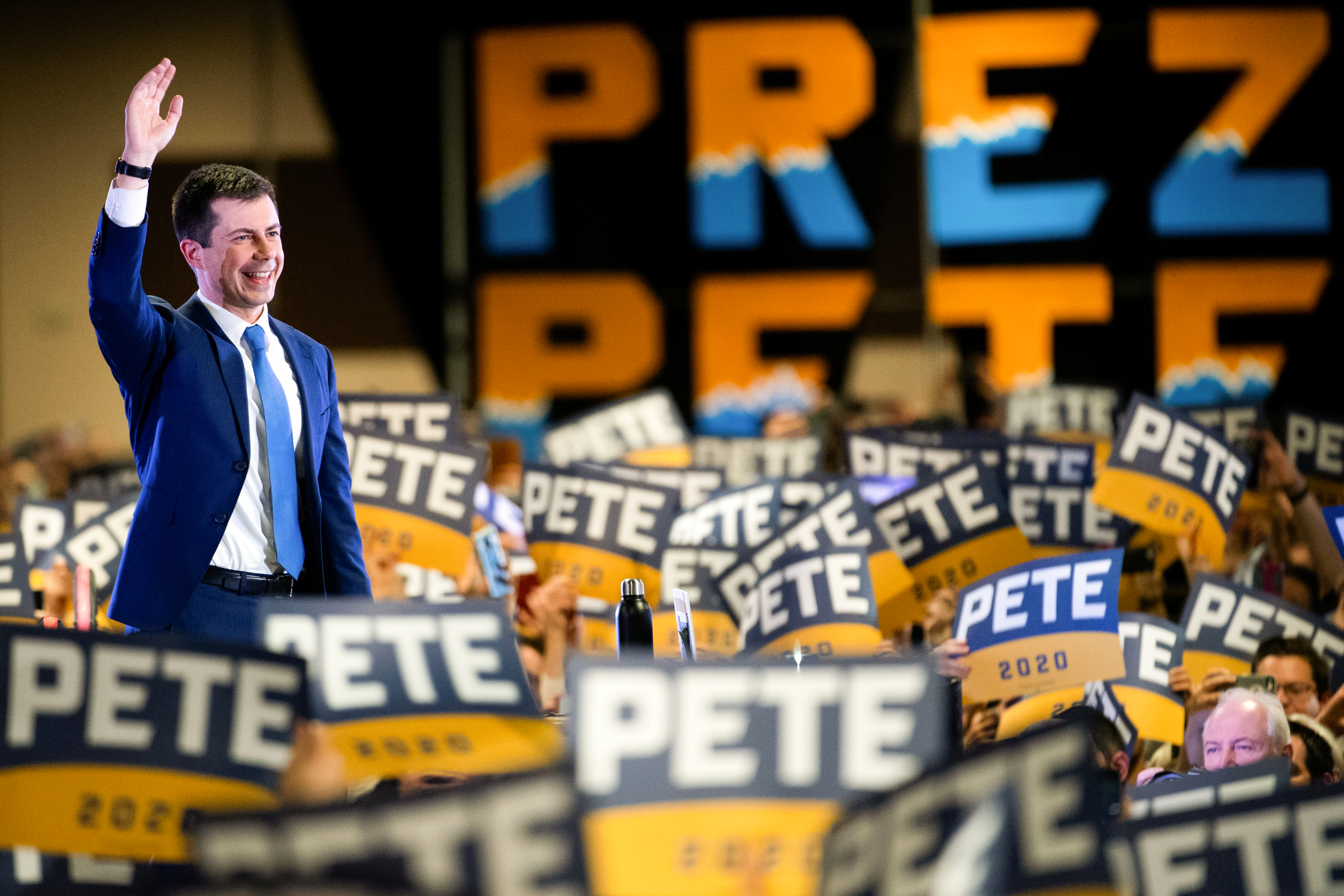 Buttigieg used his Nevada concession speech to make the case against Bernie Sanders