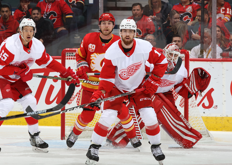 Detroit Red Wings v Calgary Flames