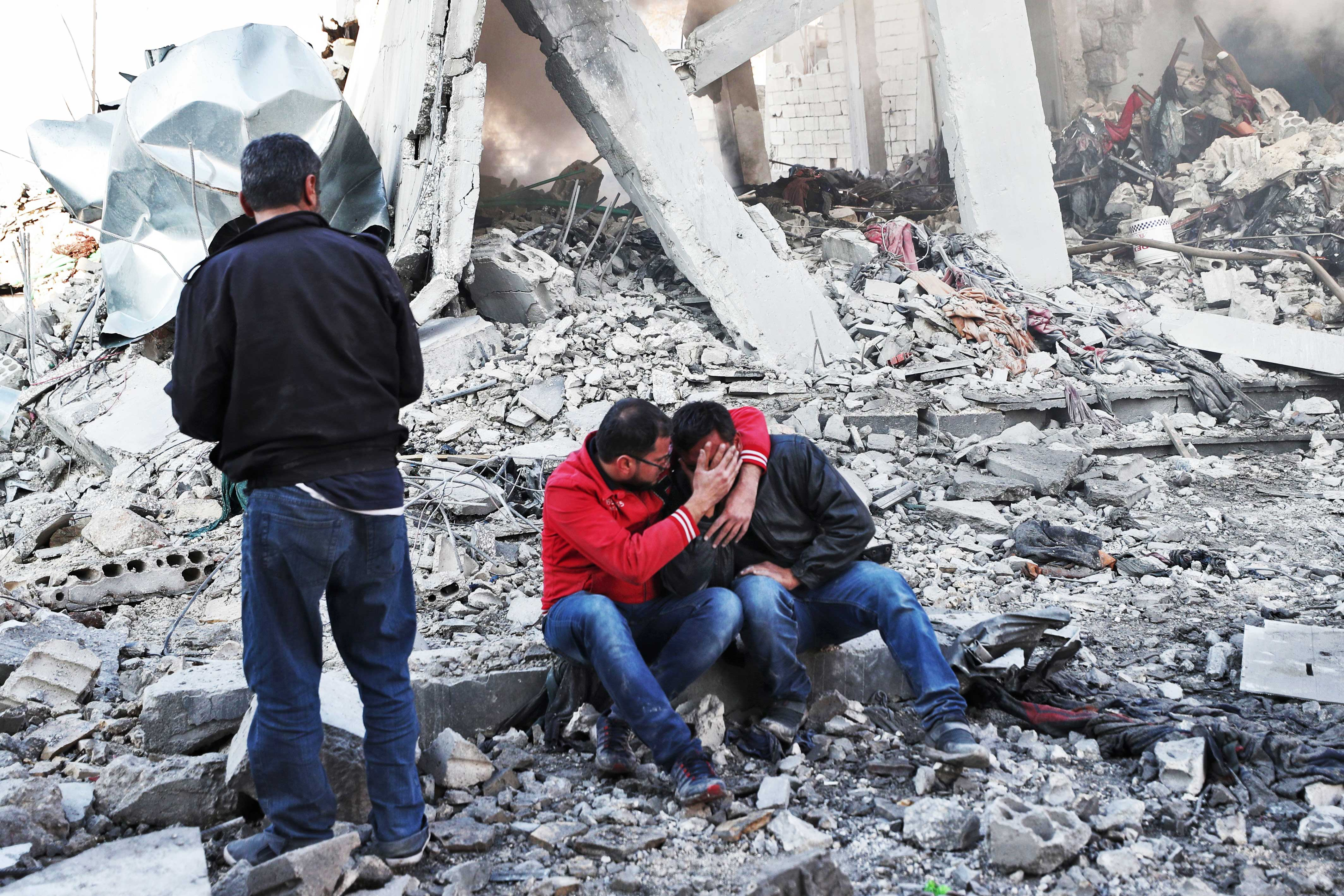 Syria's worst humanitarian catastrophe in its 9-year civil war is now unfolding