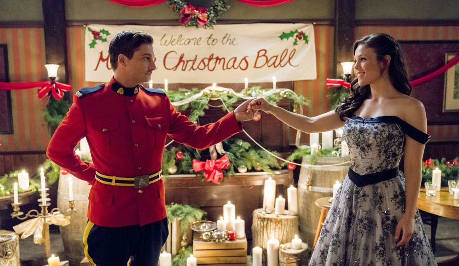 """Daniel Lissing and Erin Krakow star in the Hallmark Channel special """"When Calls the Heart: The Heart of Faith,"""" now on DVD."""