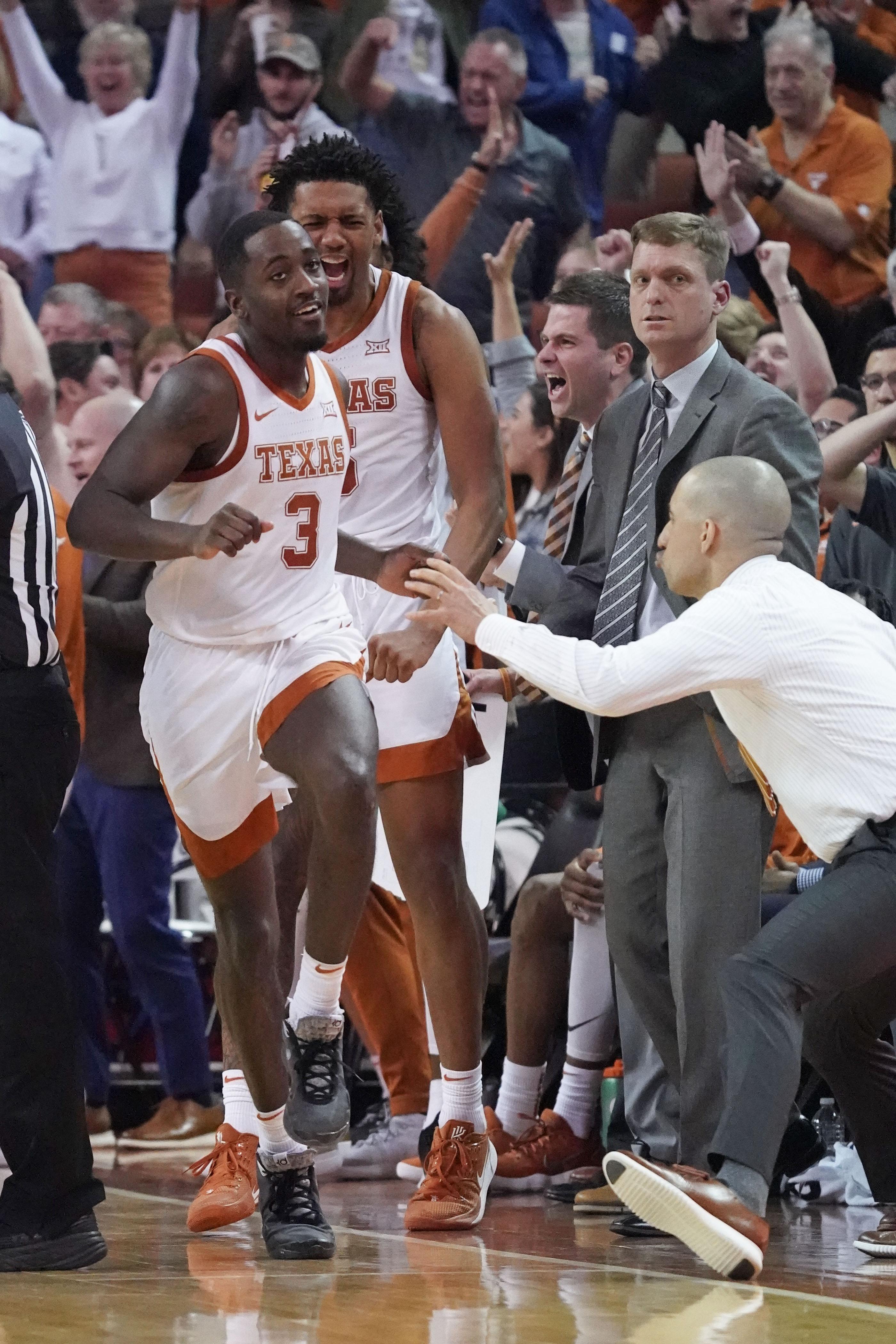 NCAA Basketball: West Virginia at Texas