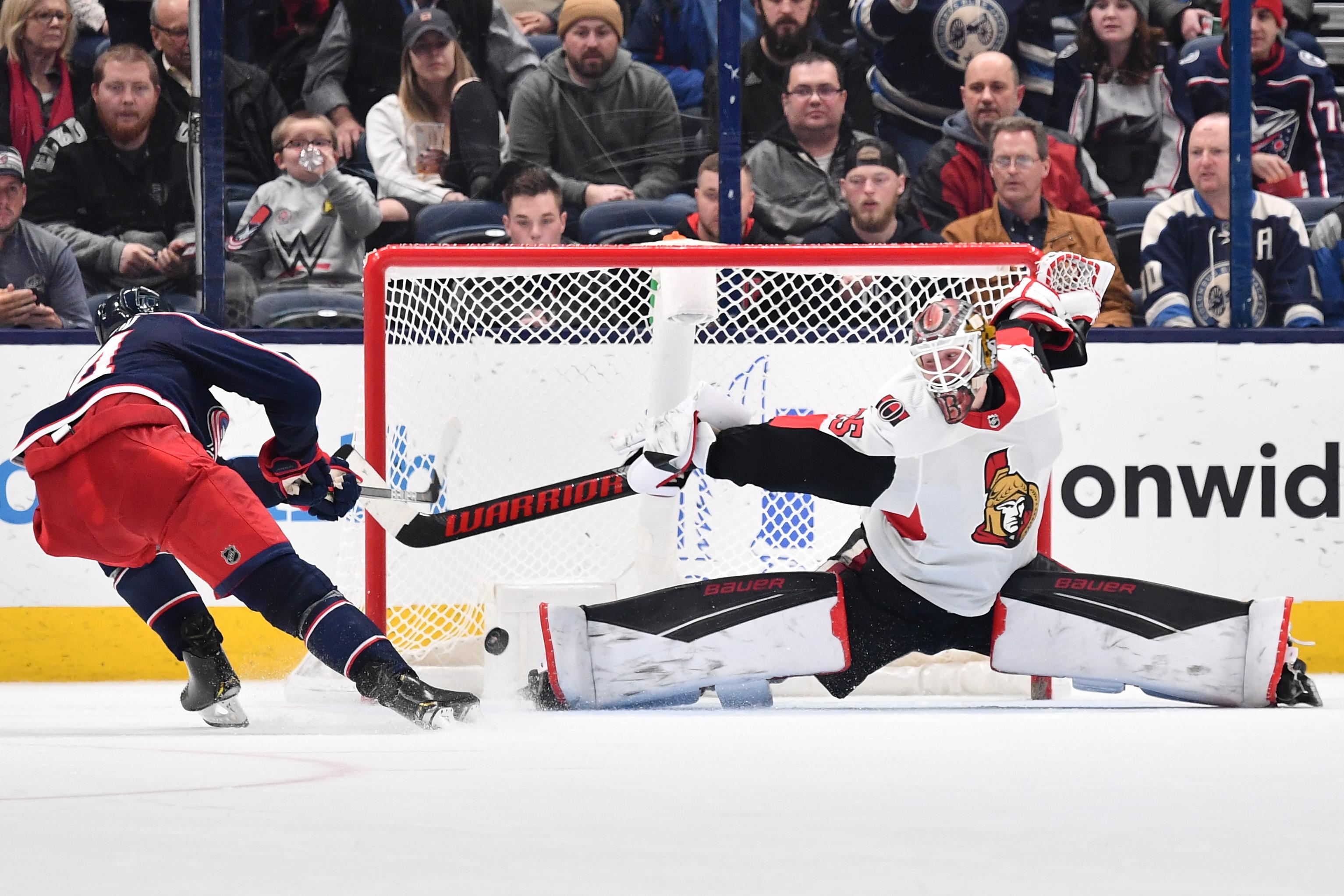 Ottawa Senators v Columbus Blue Jackets