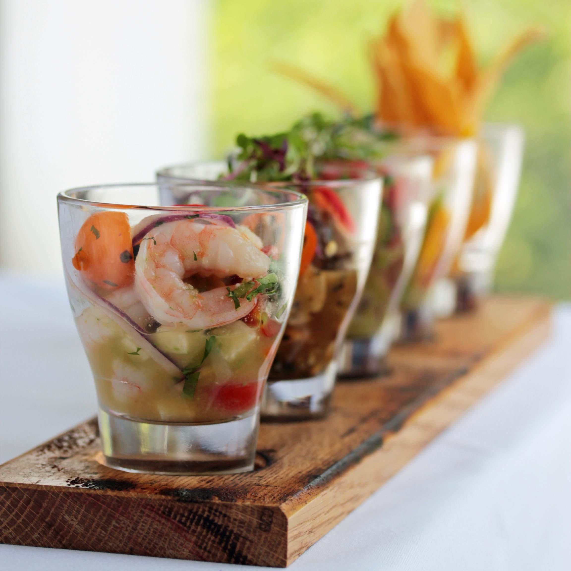 A new ceviche sampler from Rosa Mexicano