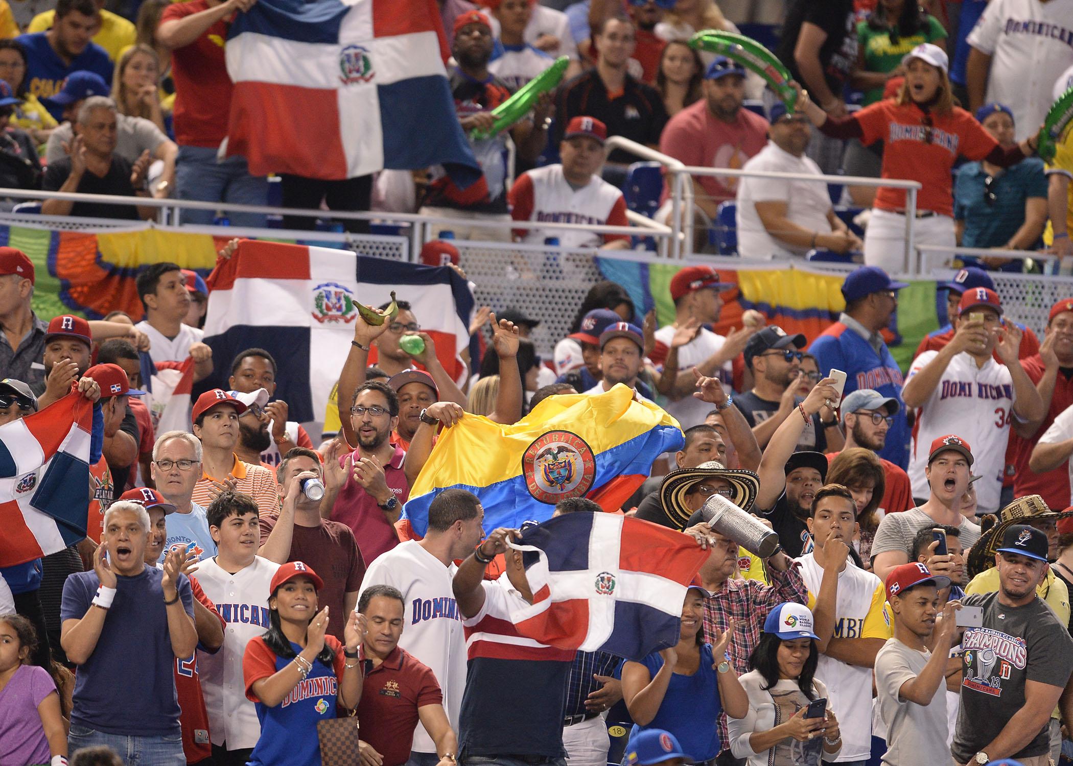 BASEBALL: MAR 12 World Baseball Classic 1st Round Pool C - Dominican Rep. v Colombia
