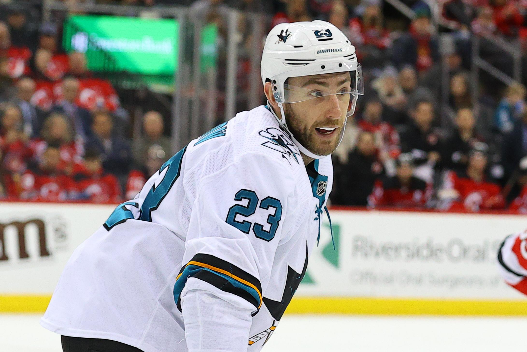 NHL: FEB 20 Sharks at Devils
