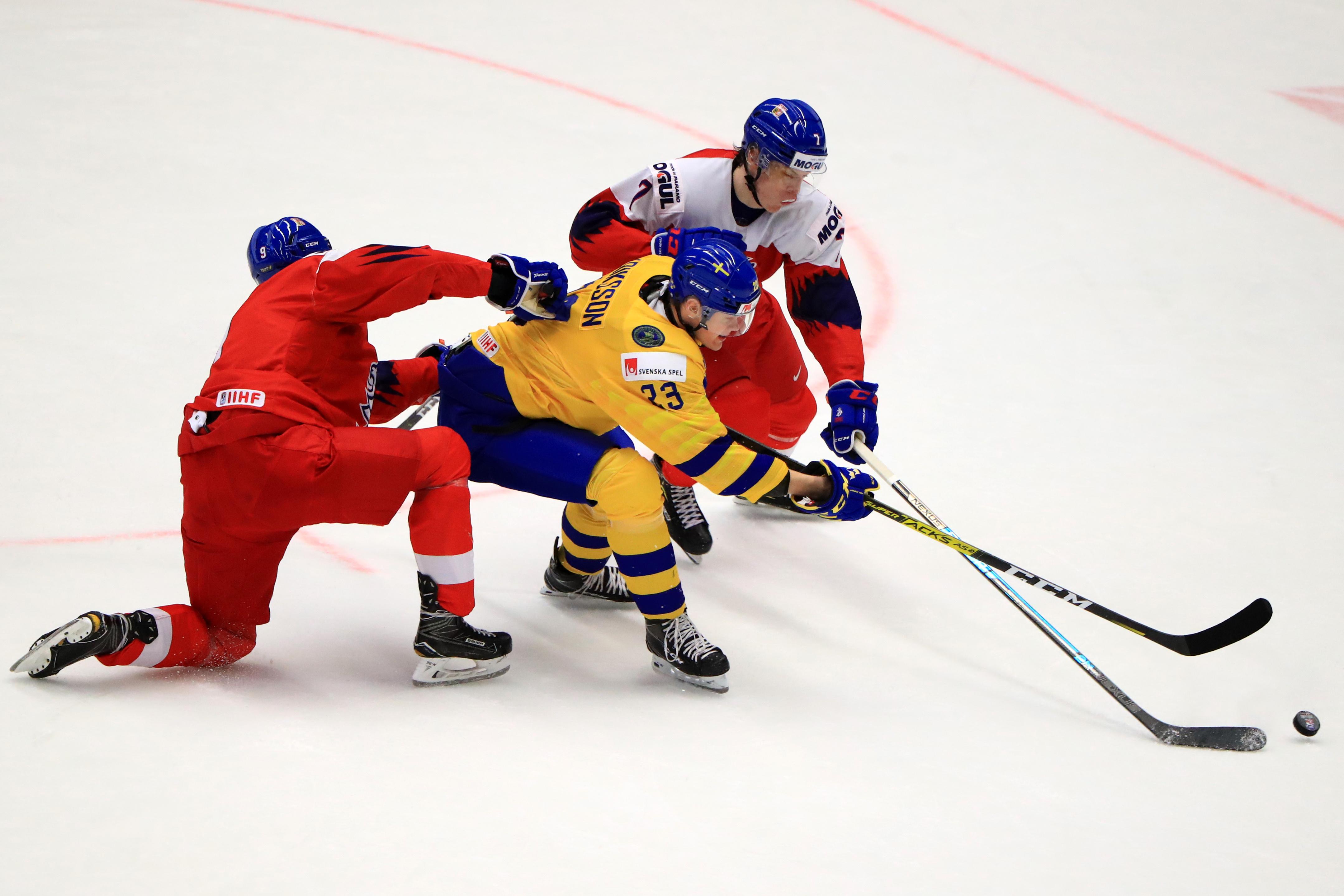 2020 IIHF World U20 Championship, quarter-finals: Sweden 5 - 0 Czech Republic