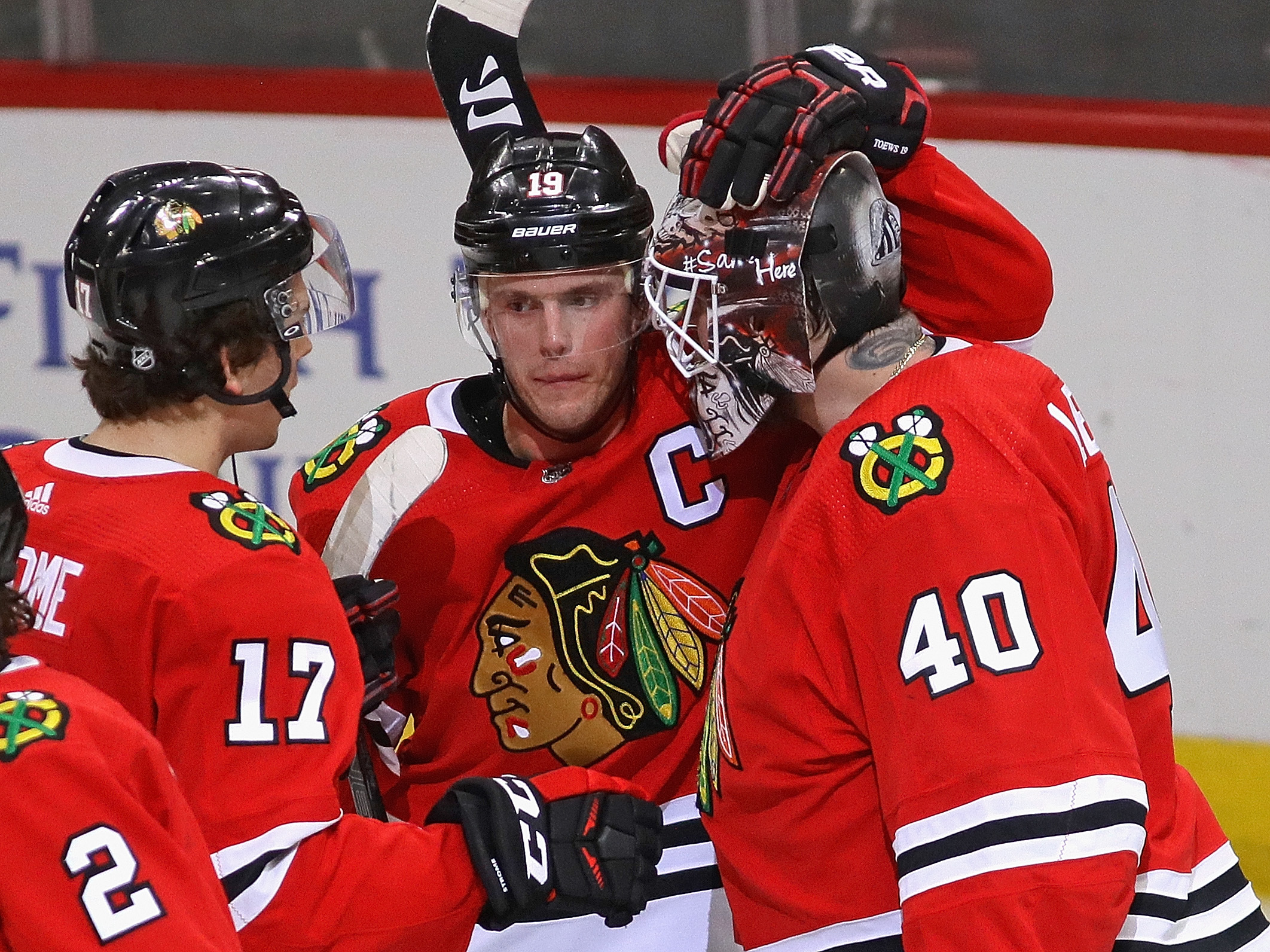 Robin Lehner's Blackhawks tenure is over after just 33 appearances, but he's already dearly missed by his former teammates.
