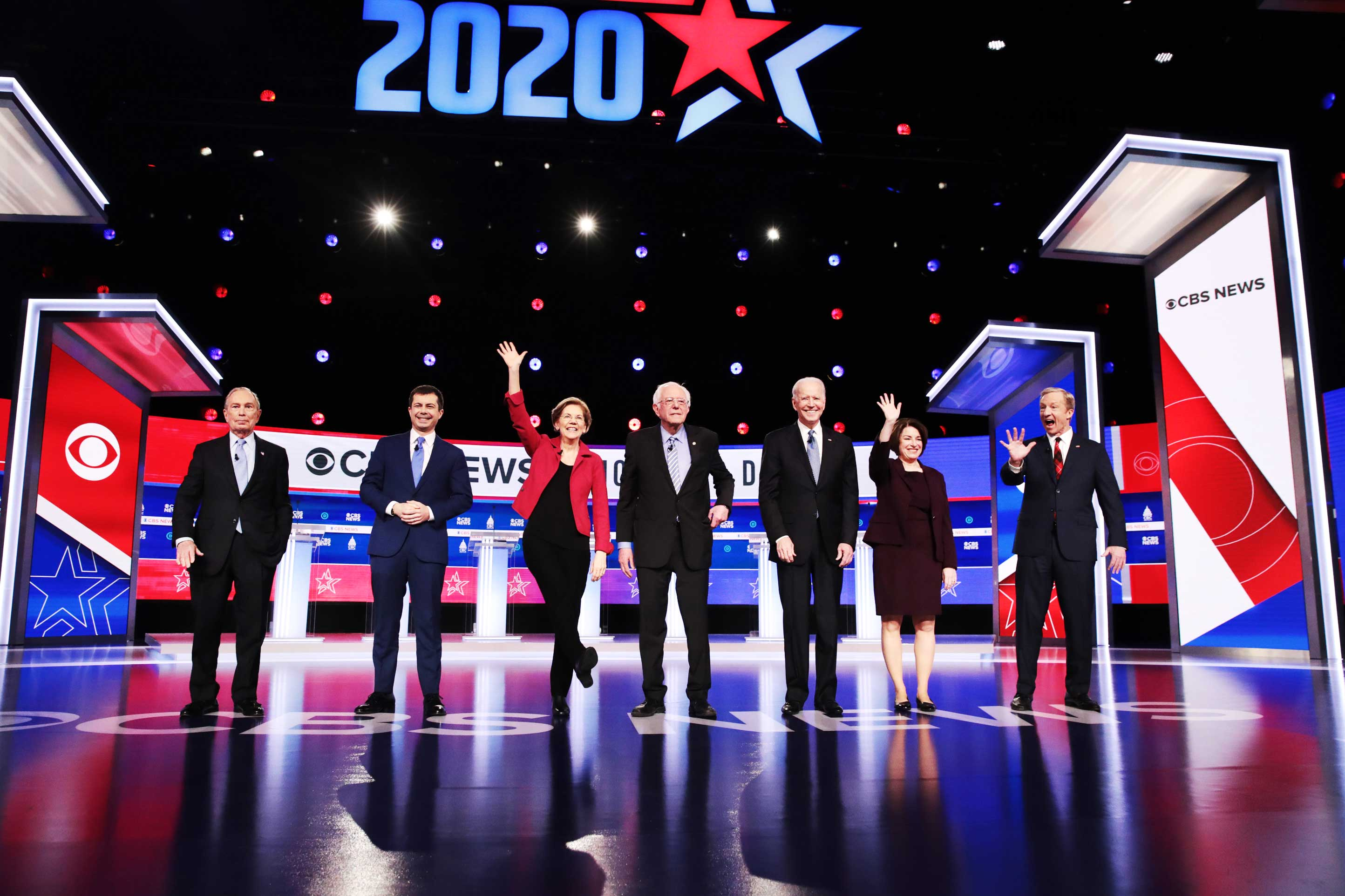 4 winners and 2 losers from the Democratic debate in South Carolina