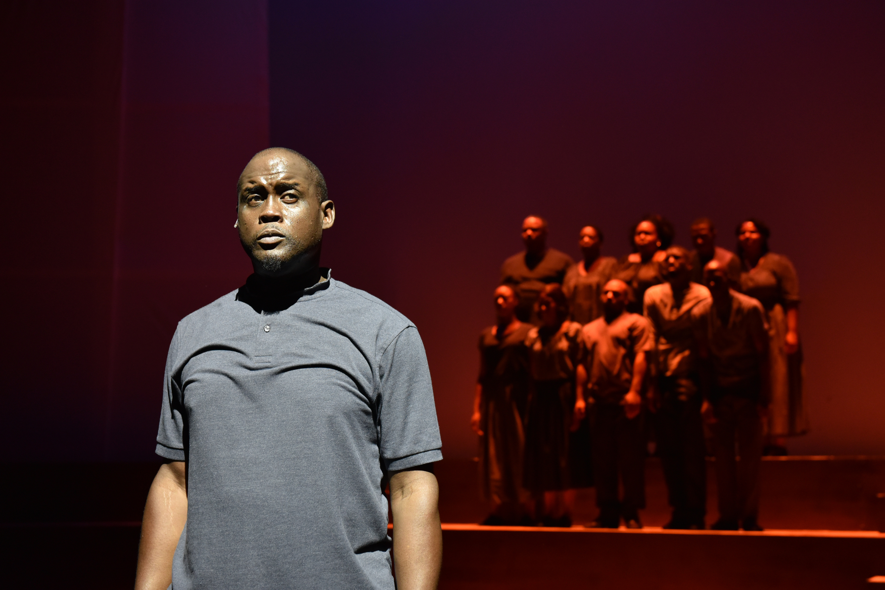"""Dwight Neal stars in """"Legends the Musical: A Civil Rights Movement, Yesterday, Today and Tomorrow"""" at Black Ensemble Theater."""