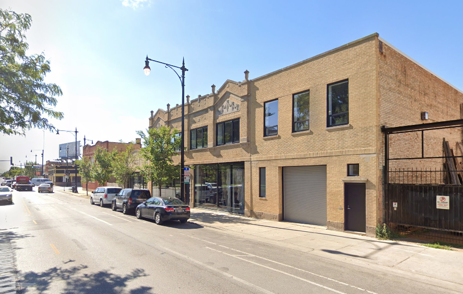 An SUV crashed into a building Feb. 27, 2020, in the 3600 block of North Milwaukee Avenue.