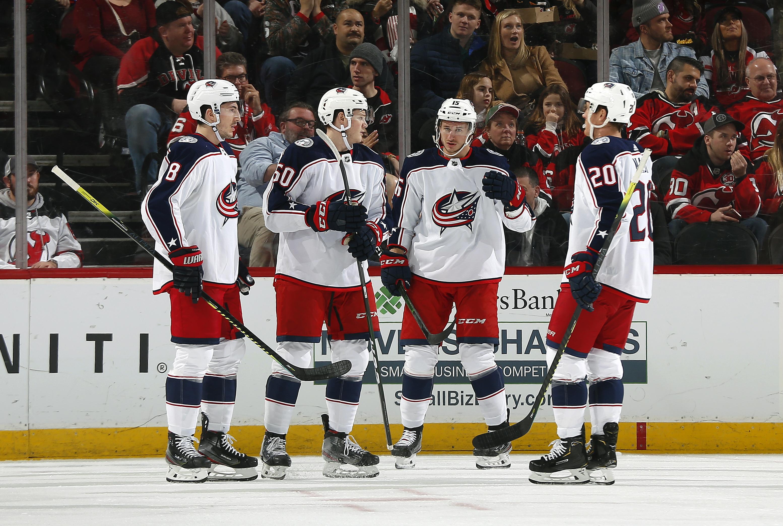 Columbus Blue Jackets v New Jersey Devils