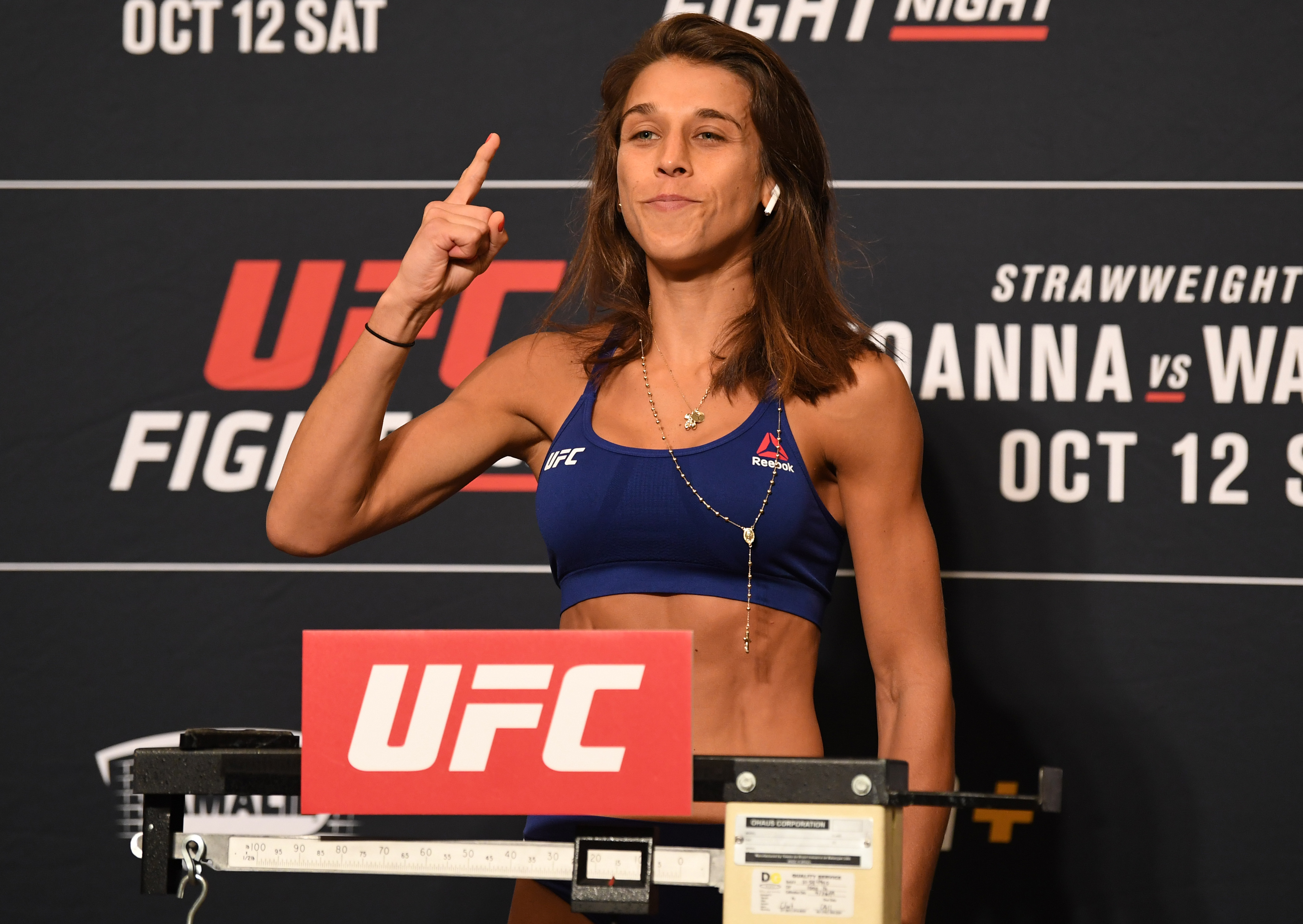 UFC Fight Night Joanna v Waterson: Weigh-Ins