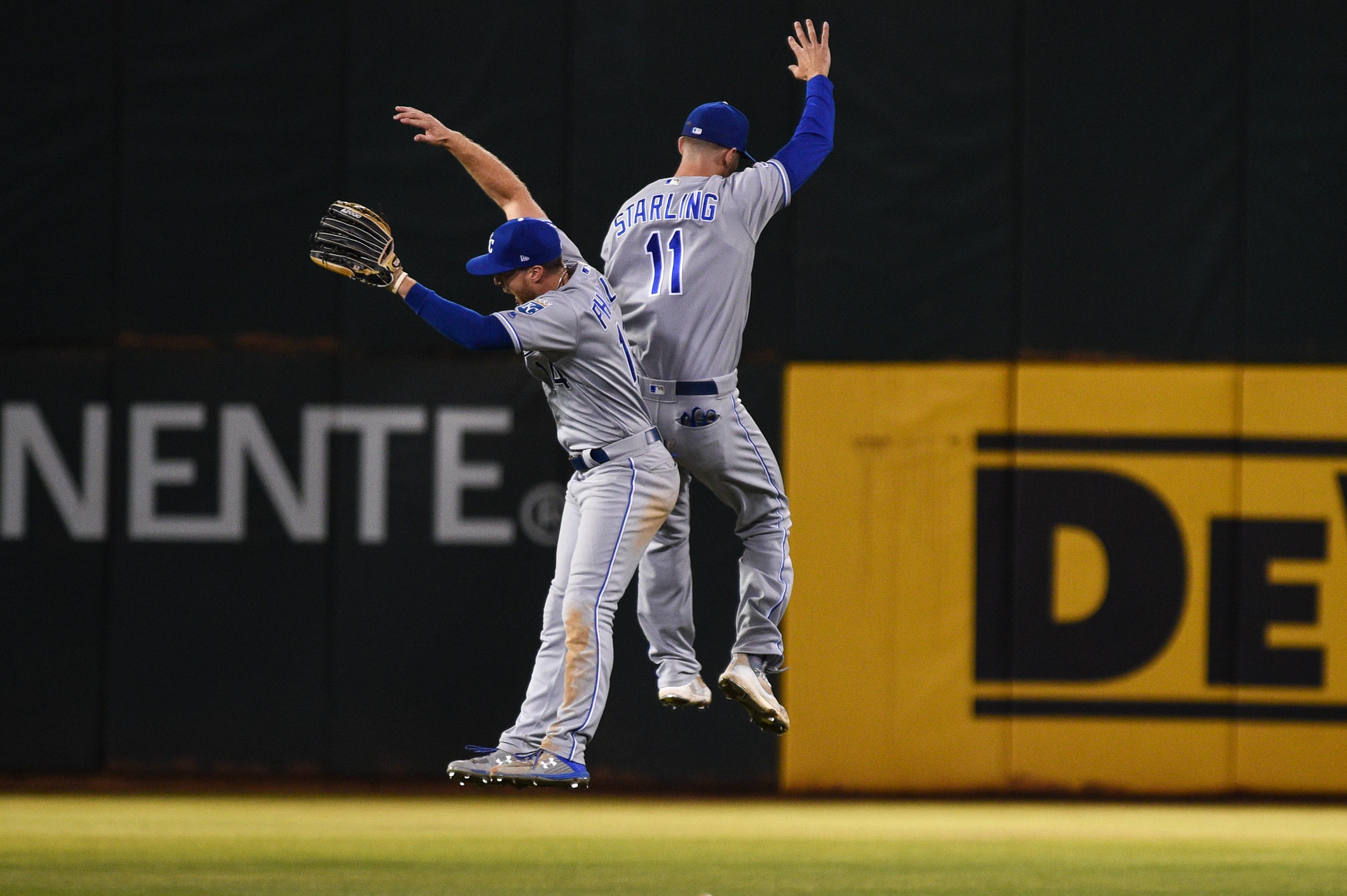MLB: SEP 16 Royals at Athletics