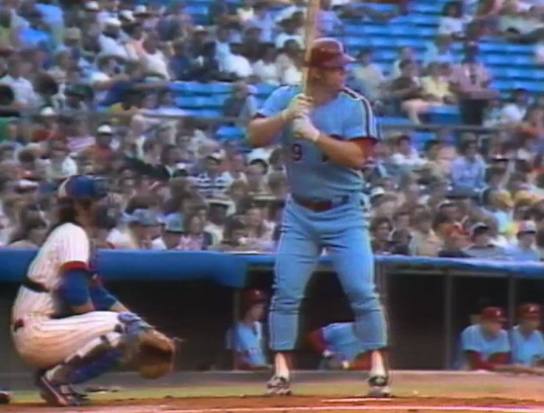 This is what an athlete looked like in the 1970s, guys.
