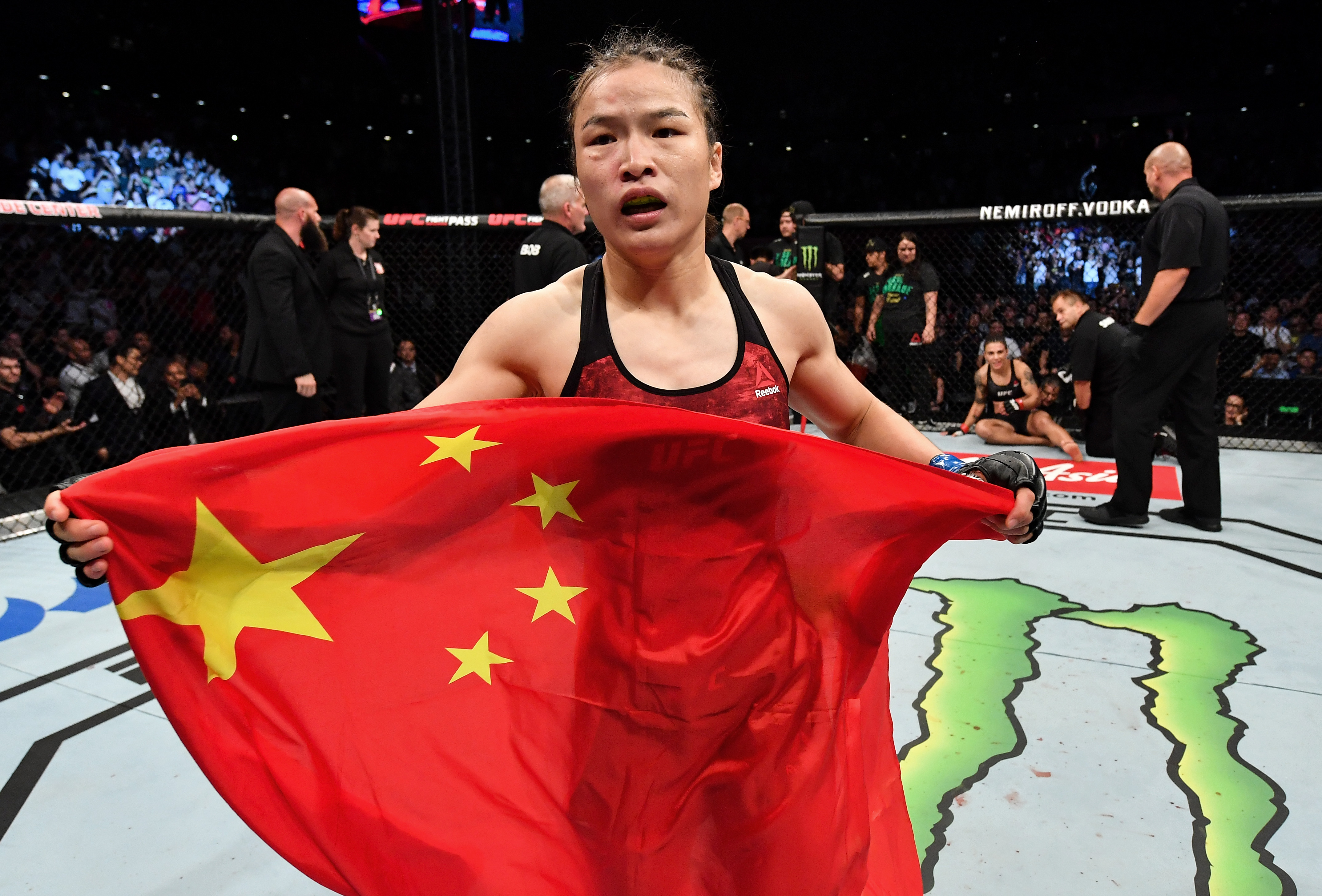 UFC Fight Night Shenzhen: Andrade v Zhang