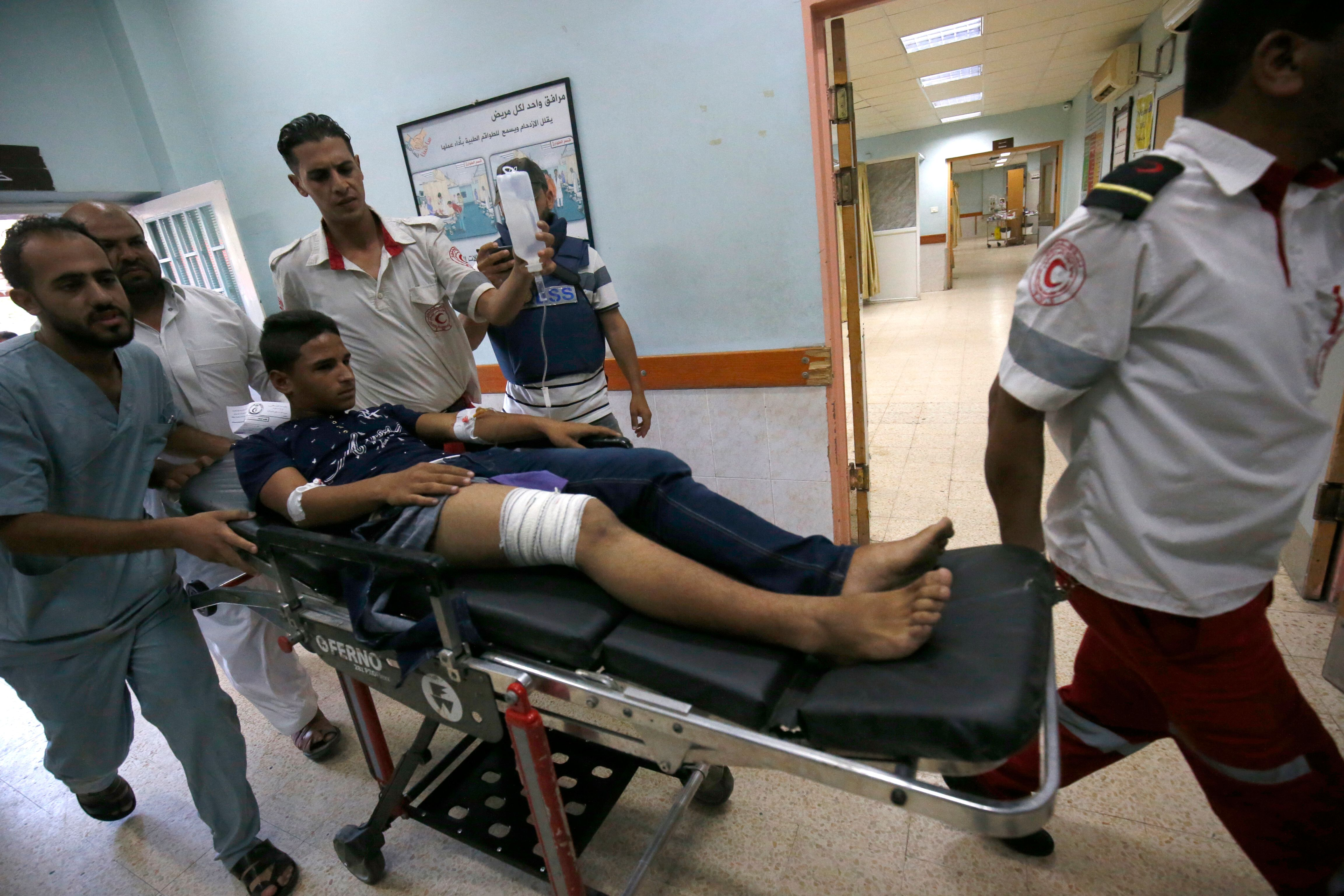 Israeli forces shot a Palestinian journalist in the leg. He got no compensation.
