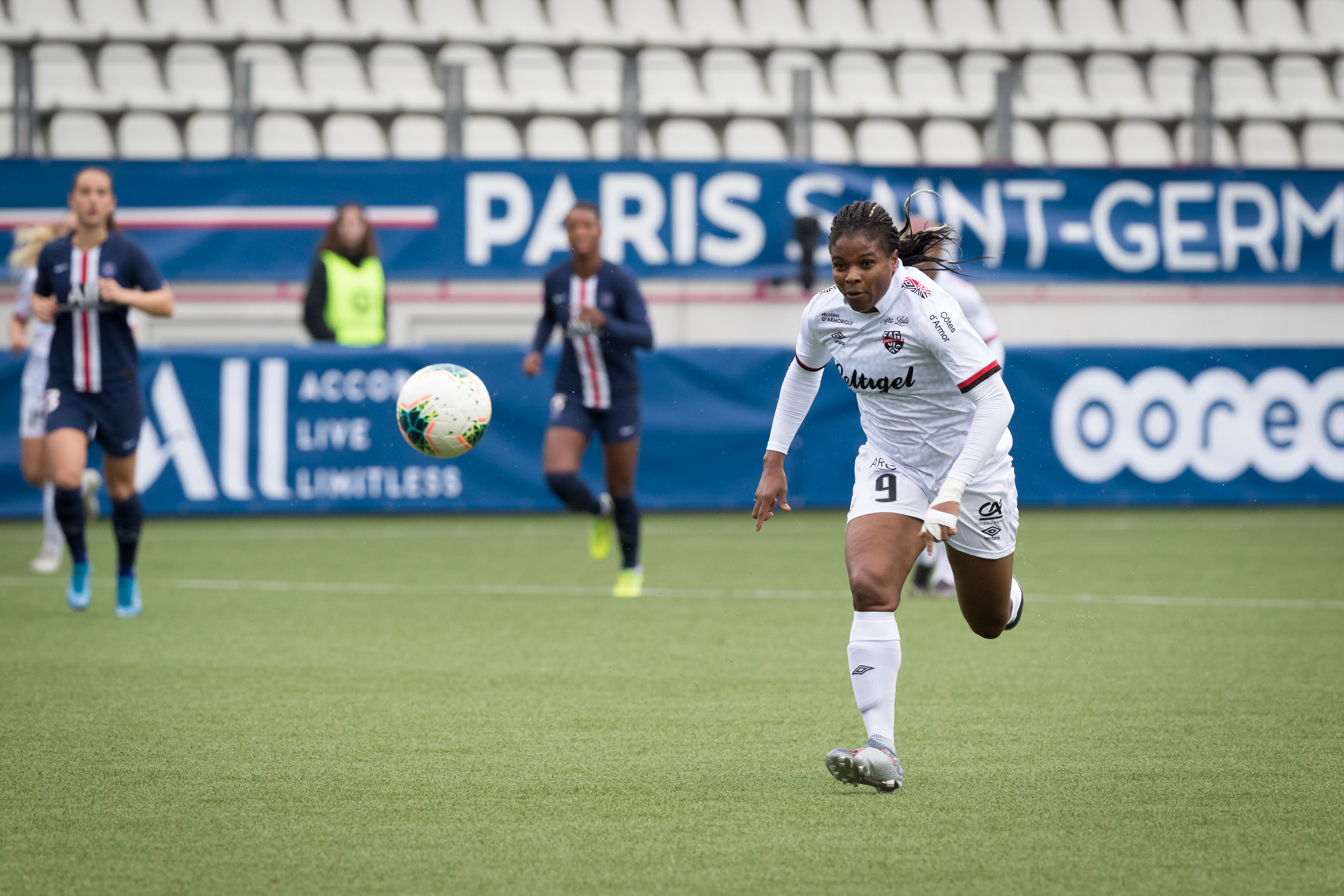 D1F Arkema match between PSG and Guingamp on November 03, 2019 in Paris, France