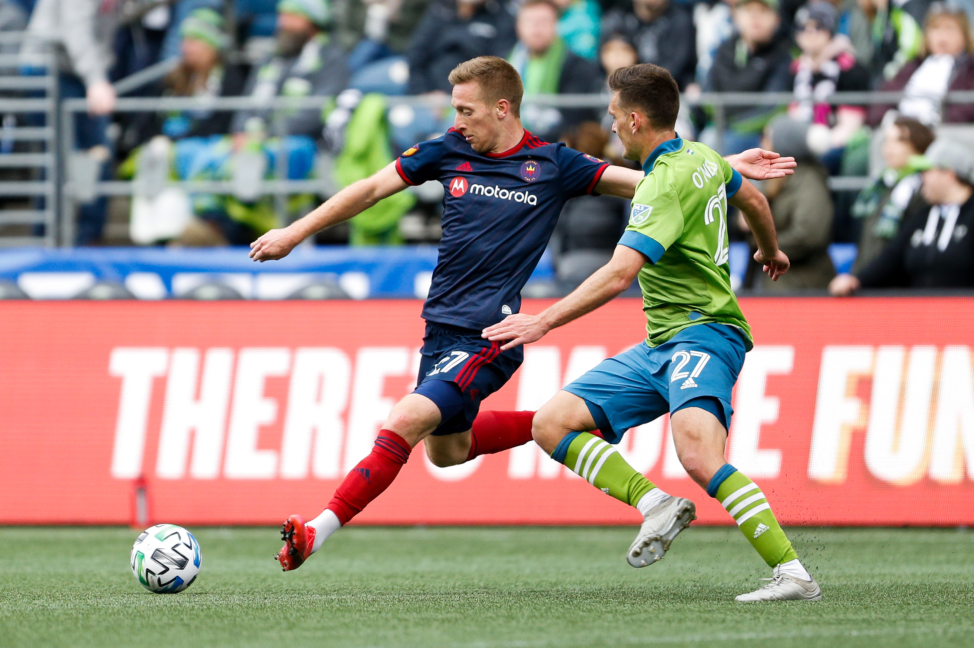 MLS: Chicago Fire at Seattle Sounders FC
