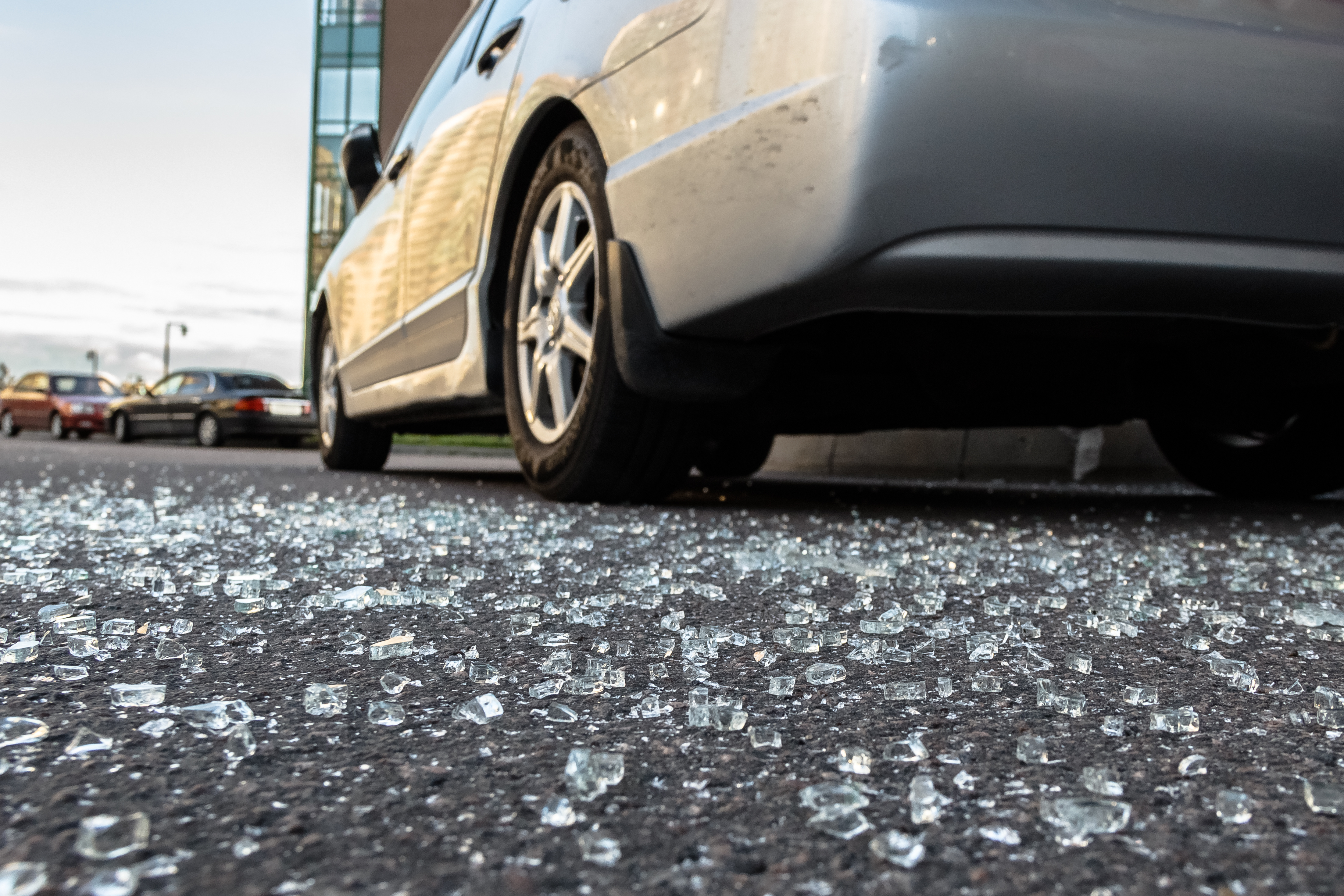Thieves smashed the windows of four parked vehicles Feb. 28, 2020, in the 2000 block of West Schiller Street in Wicker Park.