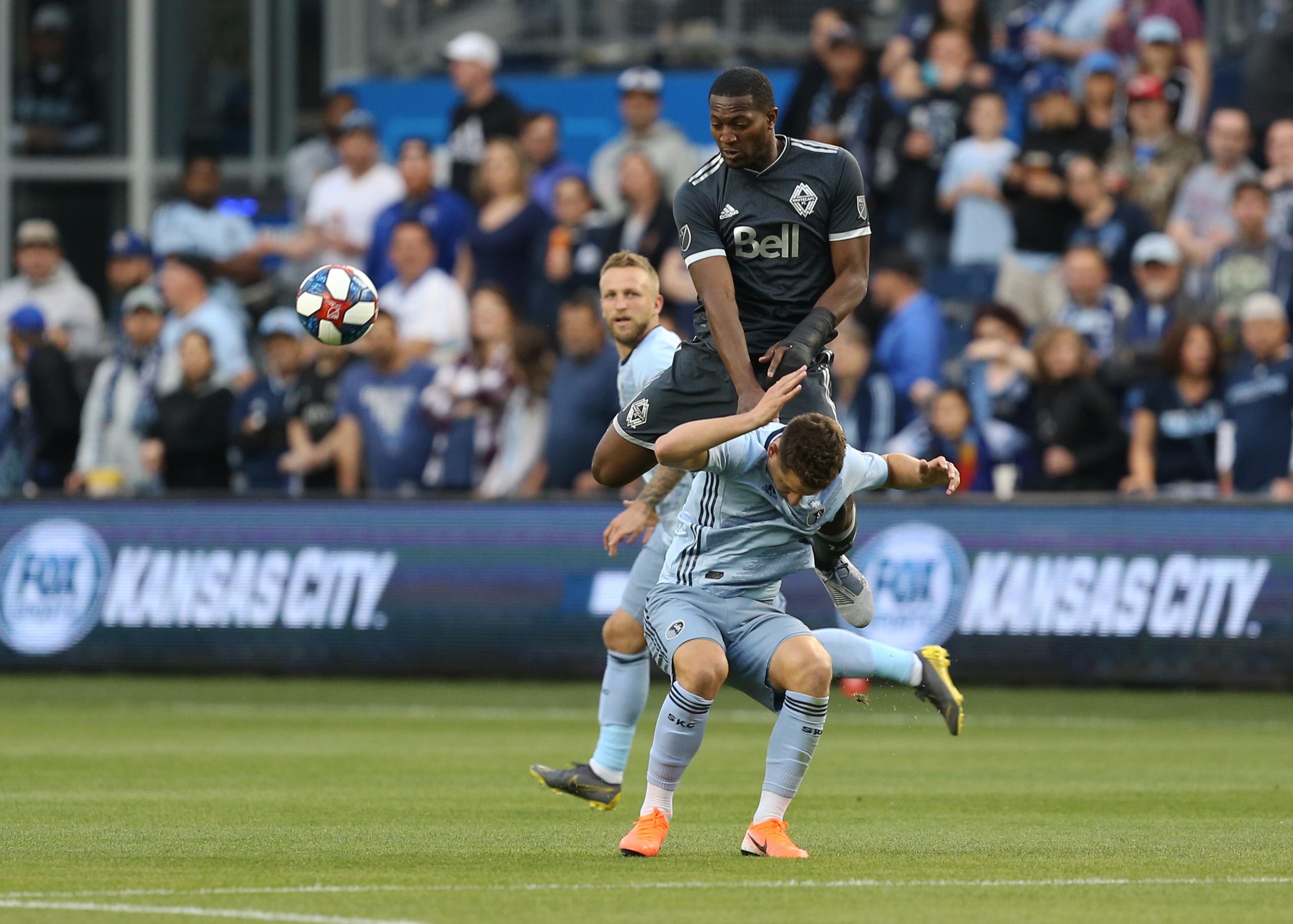 SOCCER: MAY 18 MLS - Vancouver Whitecaps at Sporting Kansas City