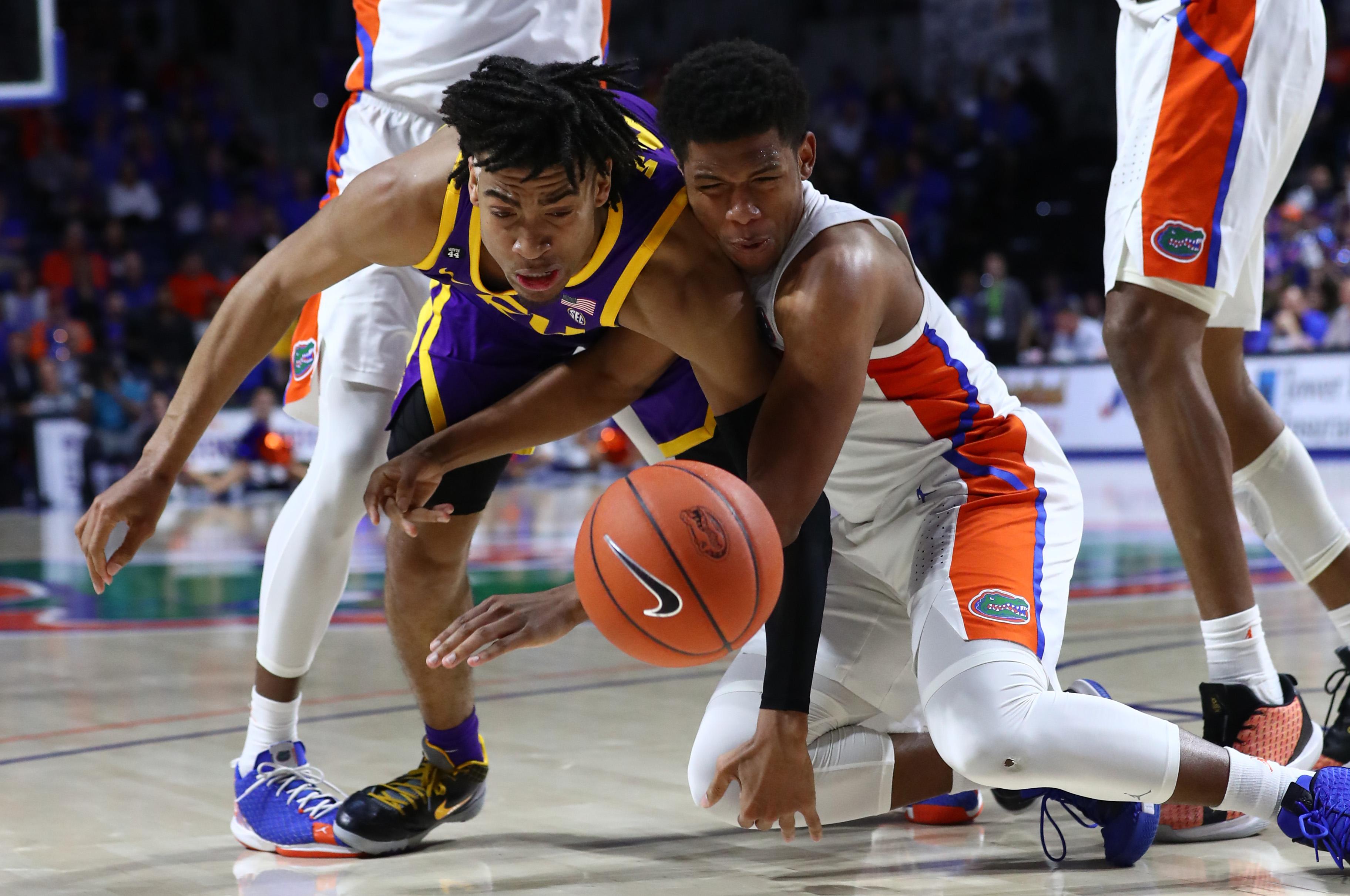 NCAA Basketball: Louisiana State at Florida