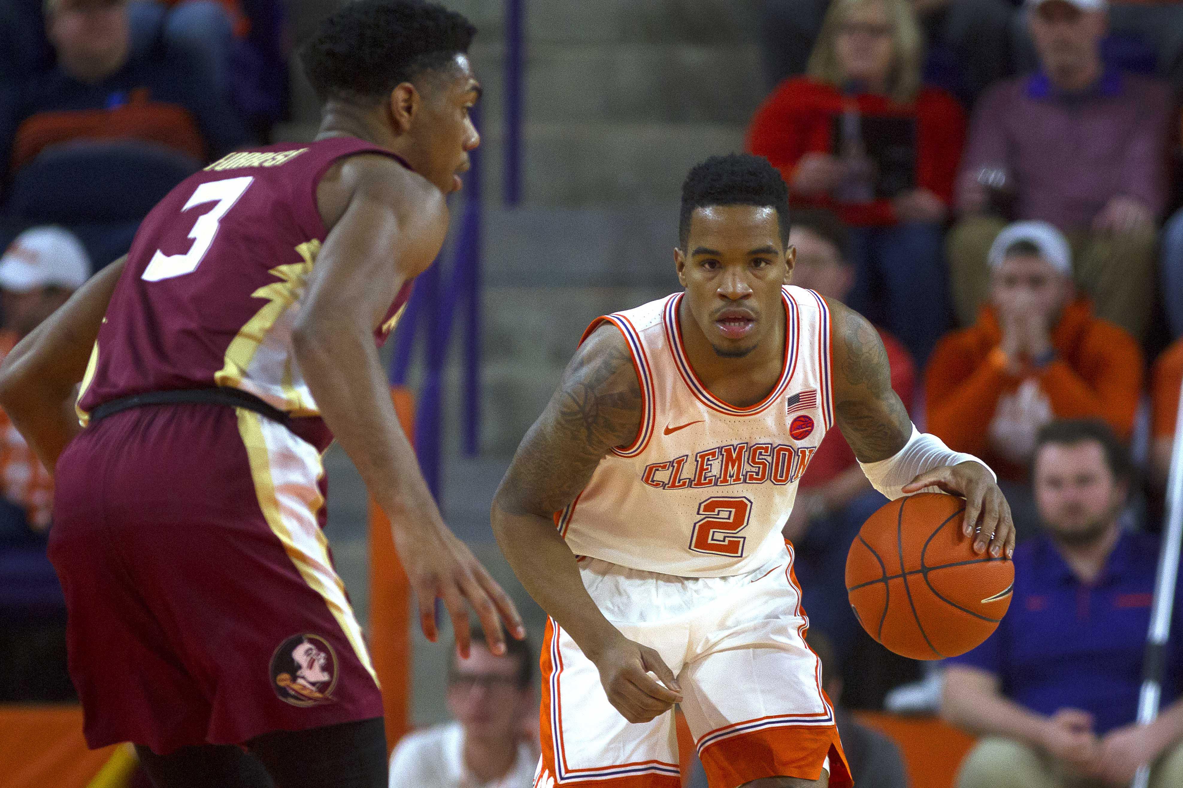 NCAA Basketball: Florida State at Clemson
