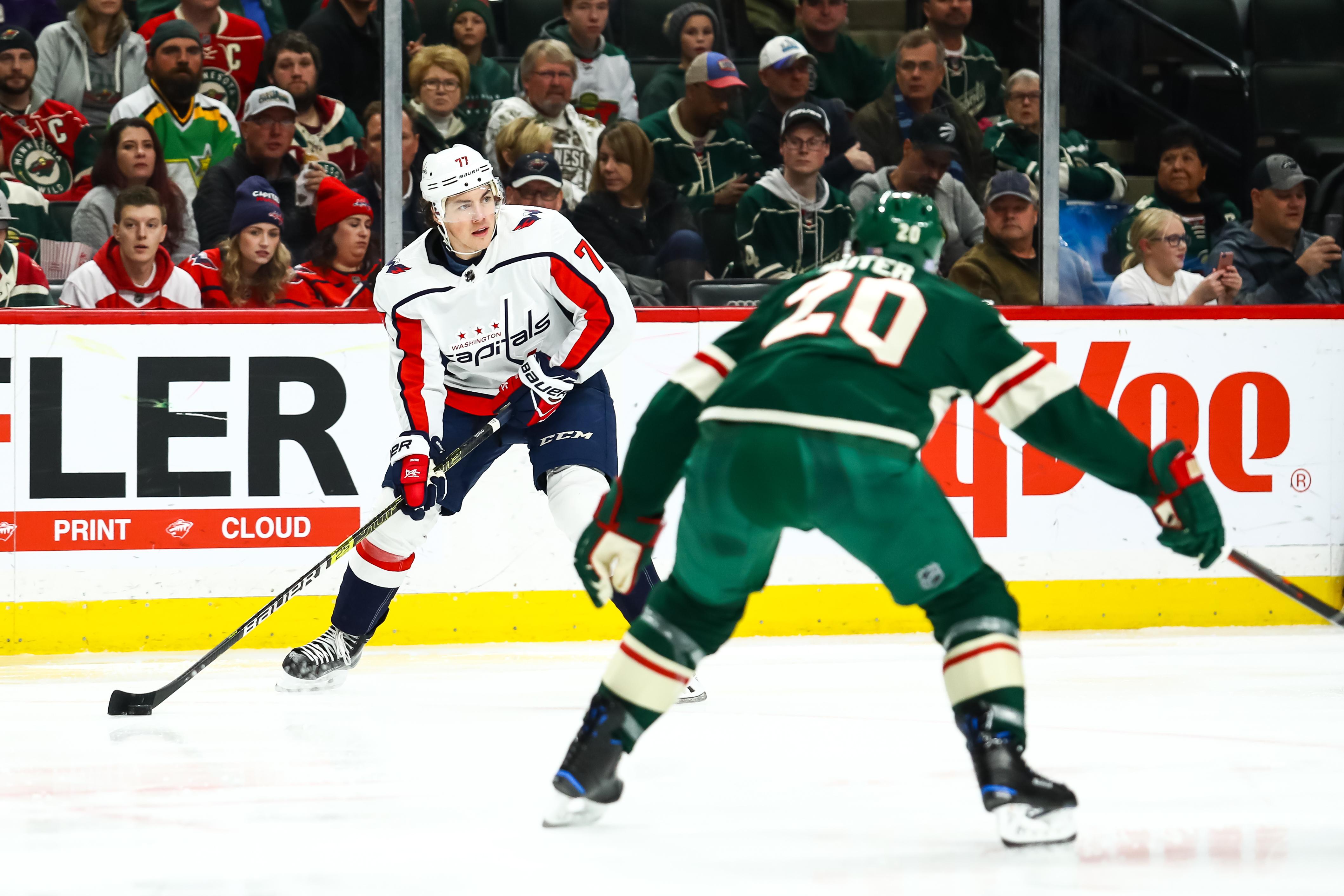 NHL: NOV 13 Capitals at Wild