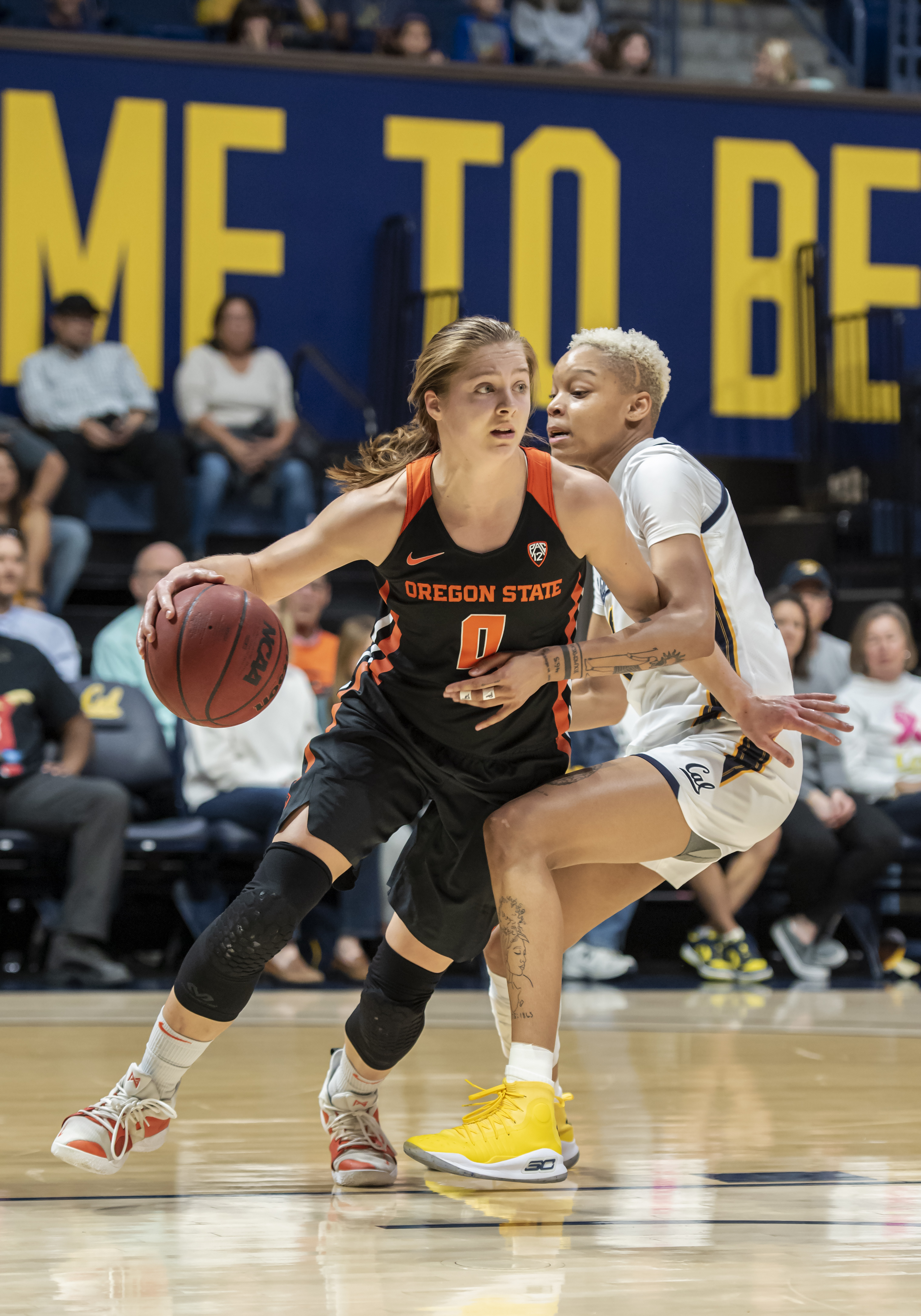 COLLEGE BASKETBALL: FEB 23 Women's Oregon State at Cal