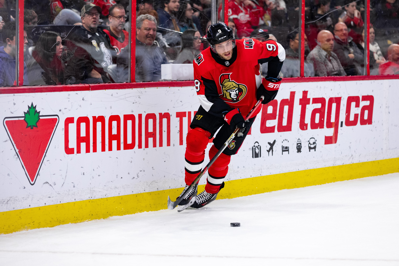 NHL: FEB 29 Red Wings at Senators