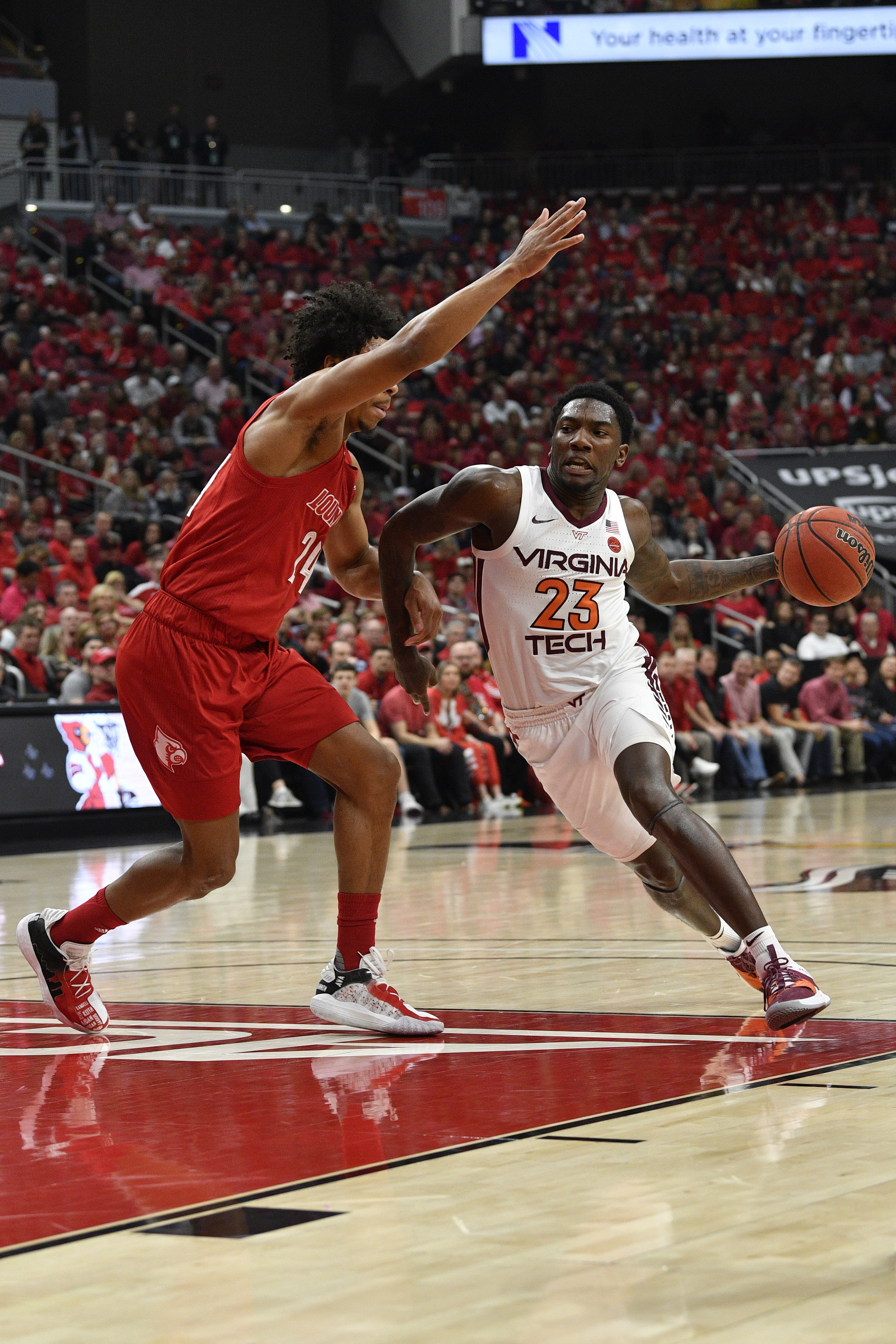 NCAA Basketball: Virginia Tech at Louisville
