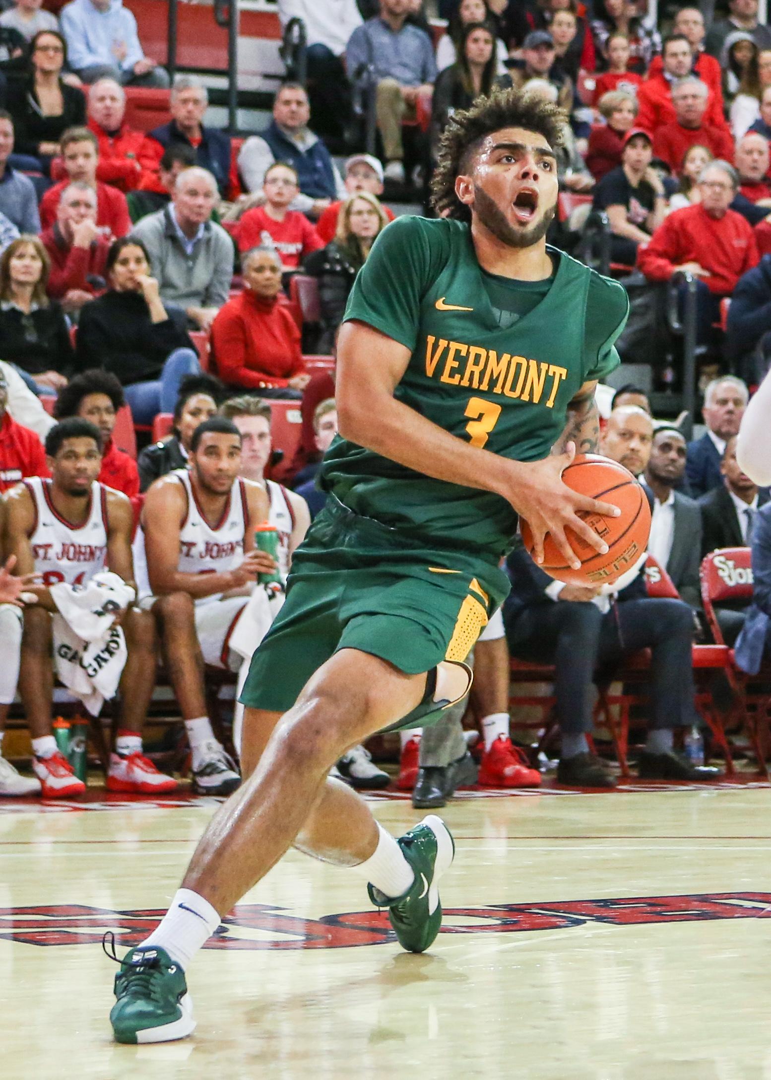 NCAA Basketball: Vermont at St. John's